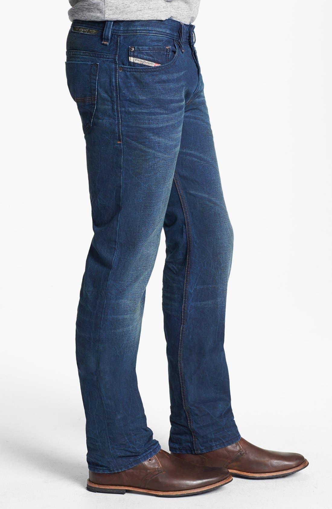 Alternate Image 3  - DIESEL® 'Safado' Slim Fit Jeans (0815A)