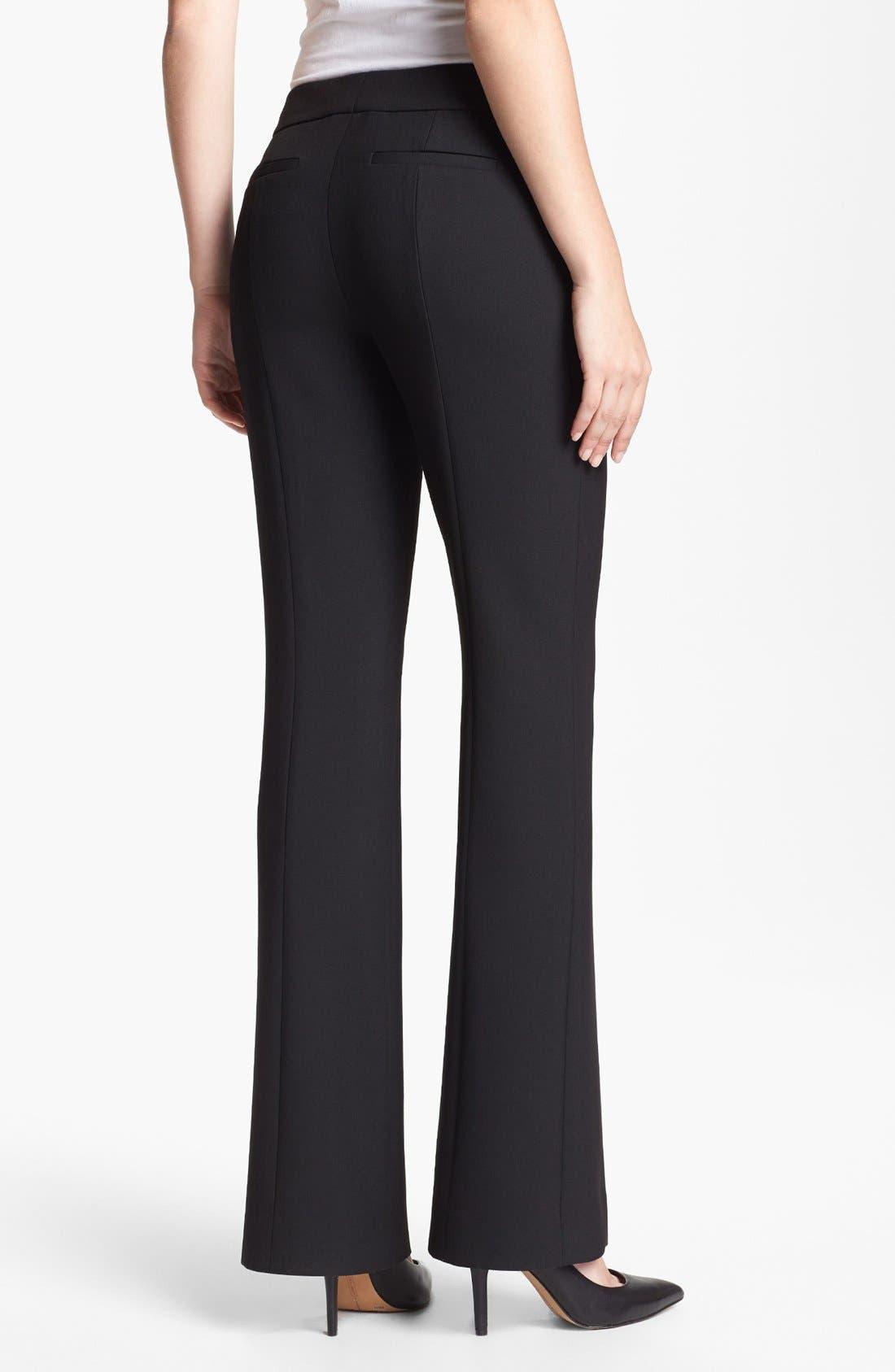 Alternate Image 2  - Classiques Entier® 'City Weave' Trousers