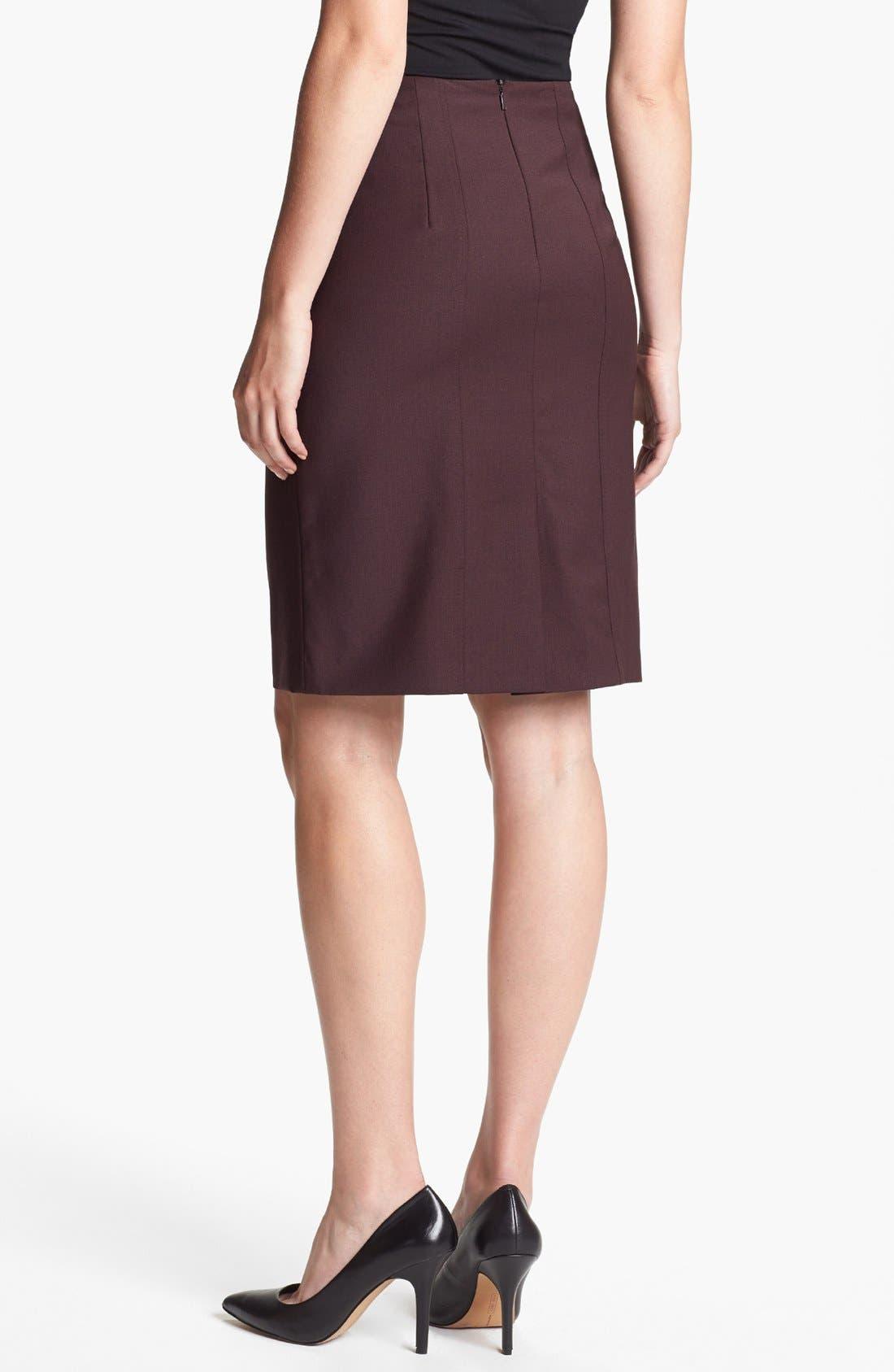 Alternate Image 2  - BOSS HUGO BOSS 'Vilisa' Skirt