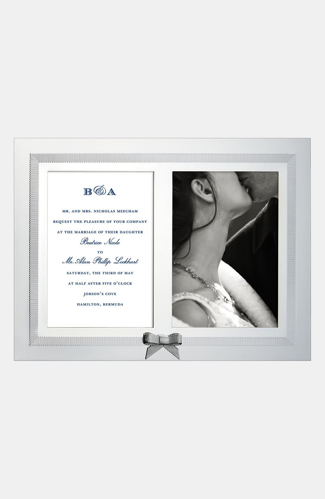 Main Image - kate spade new york 'grace avenue' double invitation frame