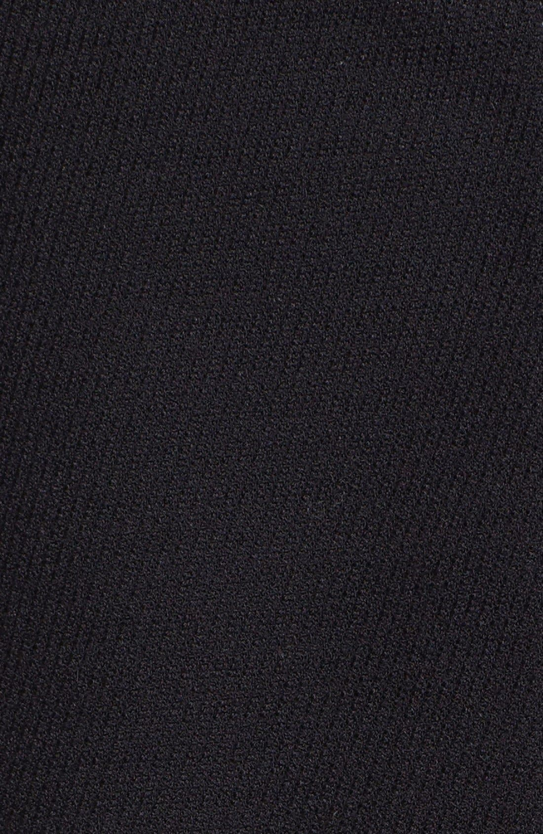 Alternate Image 5  - Halogen® Leather Panel Bomber Jacket