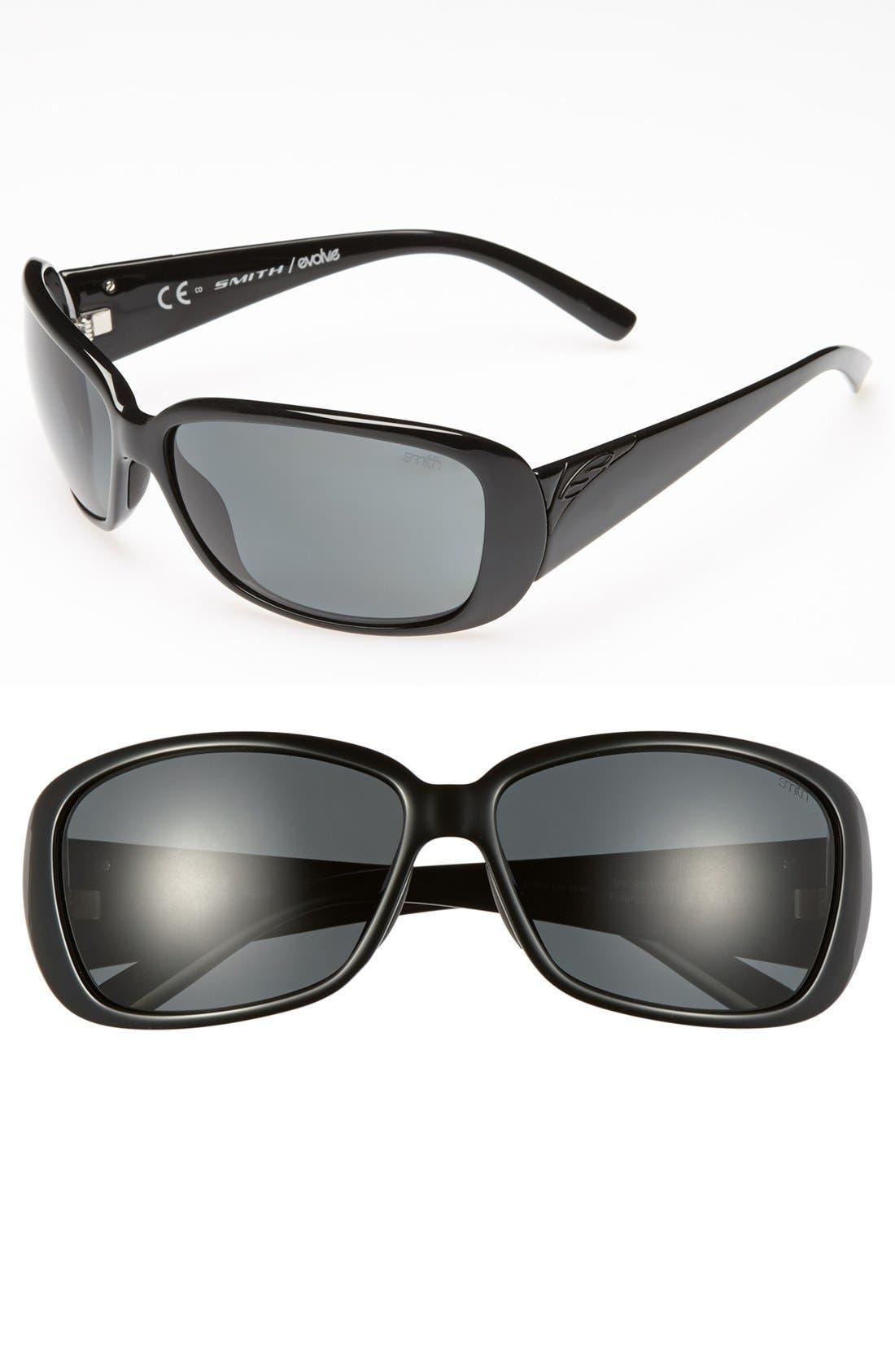 Alternate Image 1 Selected - Smith 'Shorewood' 64mm Polarized Sunglasses
