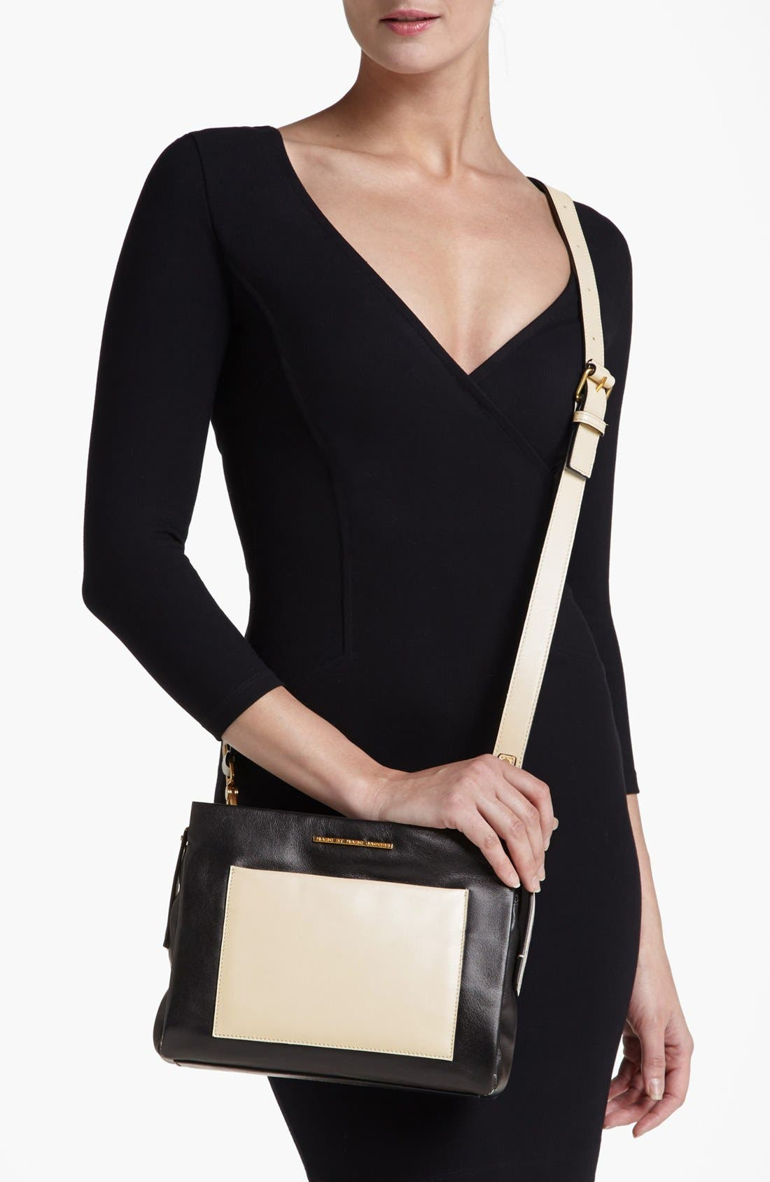 Alternate Image 2  - MARC BY MARC JACOBS 'Fold Them' Leather Crossbody Bag