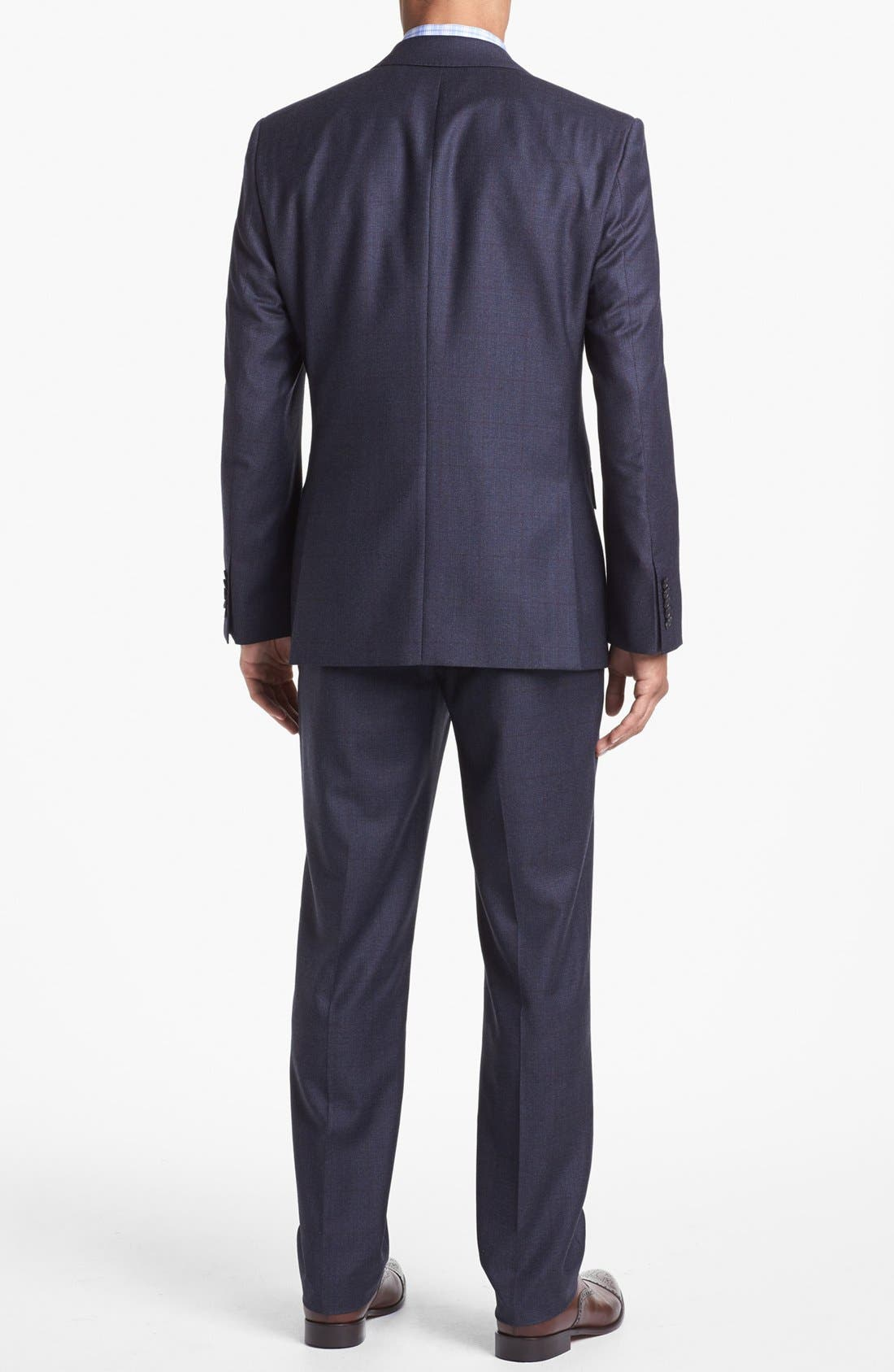 Alternate Image 3  - BOSS HUGO BOSS 'Howard/Court' Trim Fit Plaid Suit