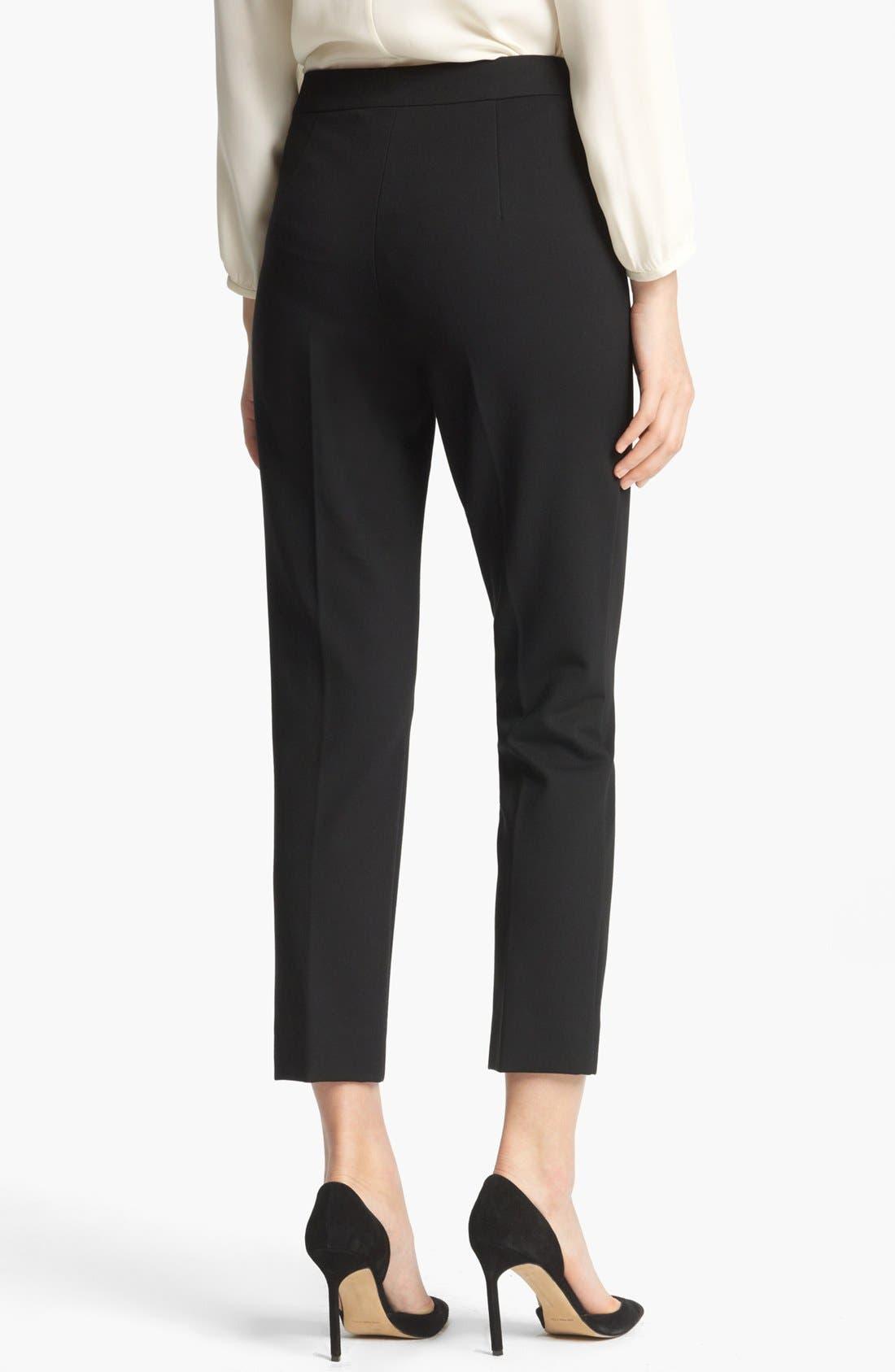 Alternate Image 2  - Max Mara 'Pegno' Slim Jersey Pants