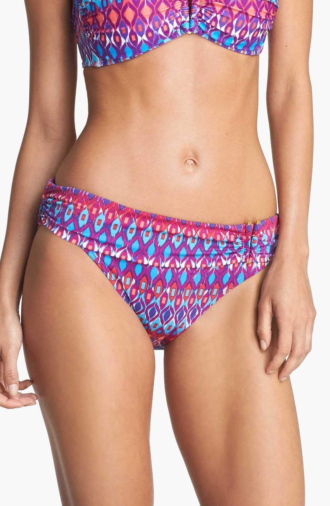 Alternate Image 1 Selected - La Blanca 'Santorini' Hipster Bikini Bottoms
