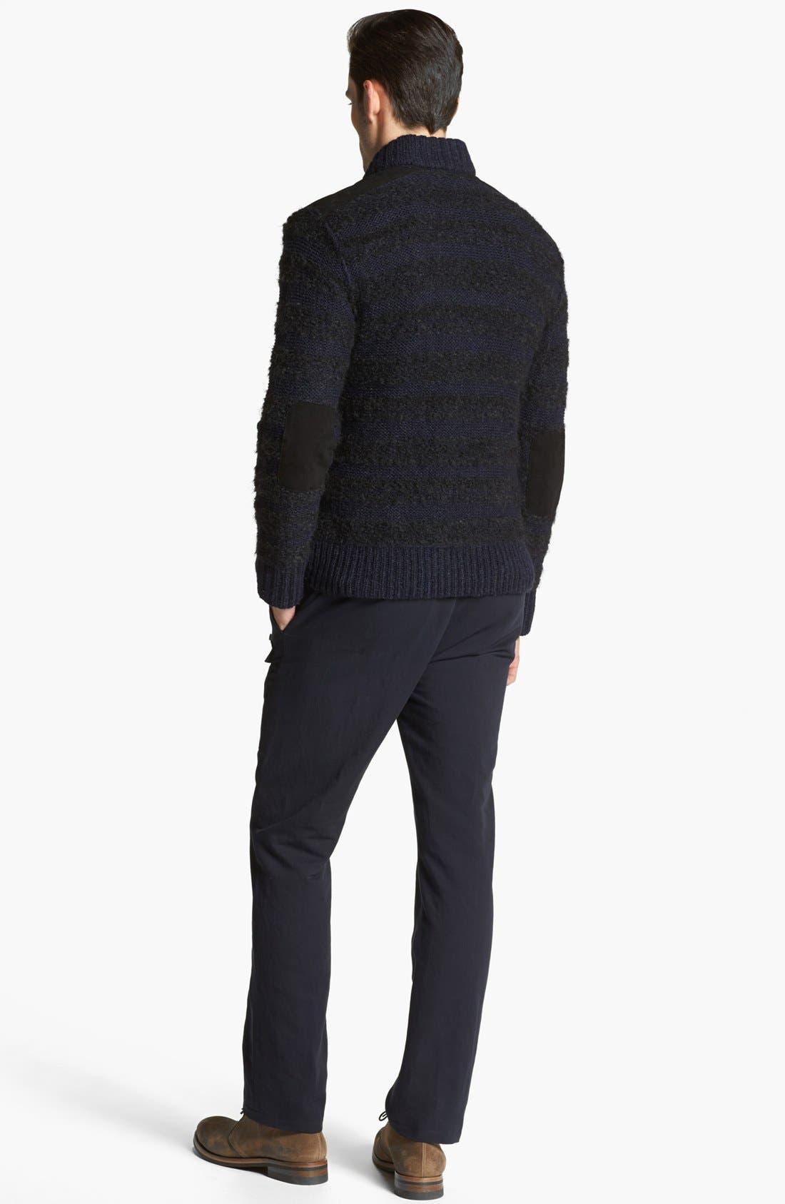 Alternate Image 5  - John Varvatos Collection Chunky Knit Sweater