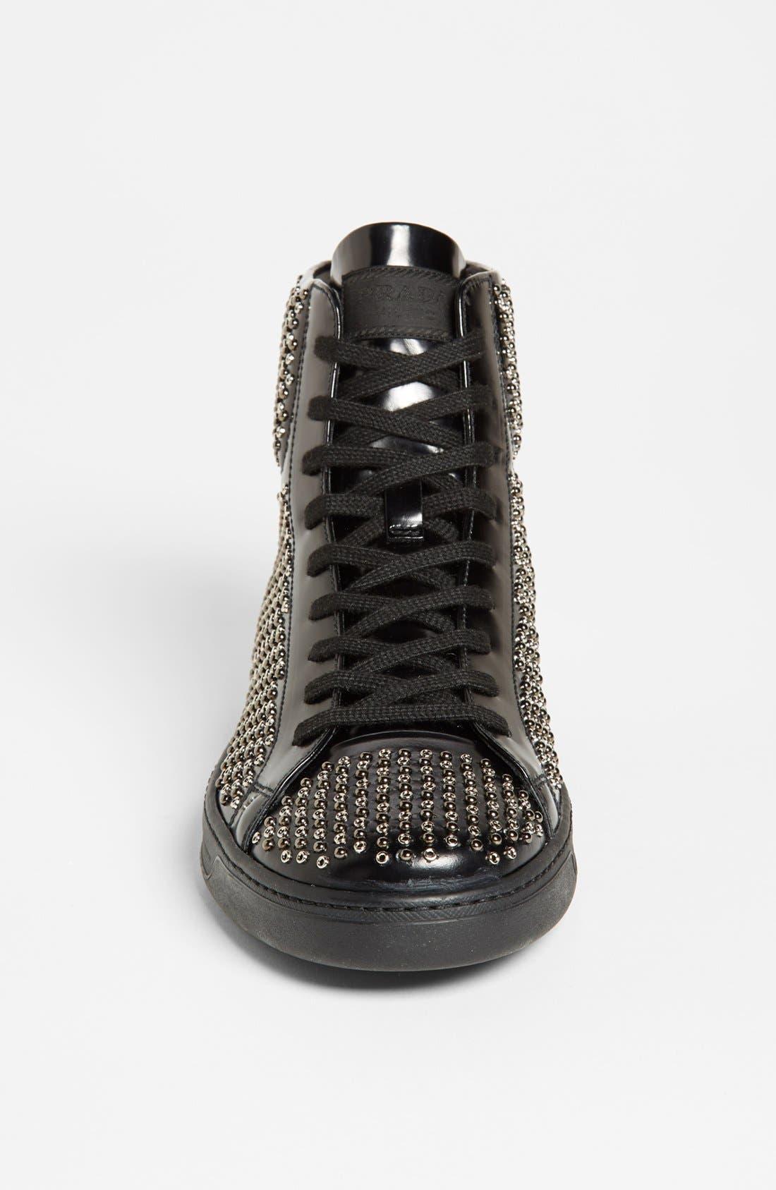Alternate Image 3  - Prada Studded Sneaker