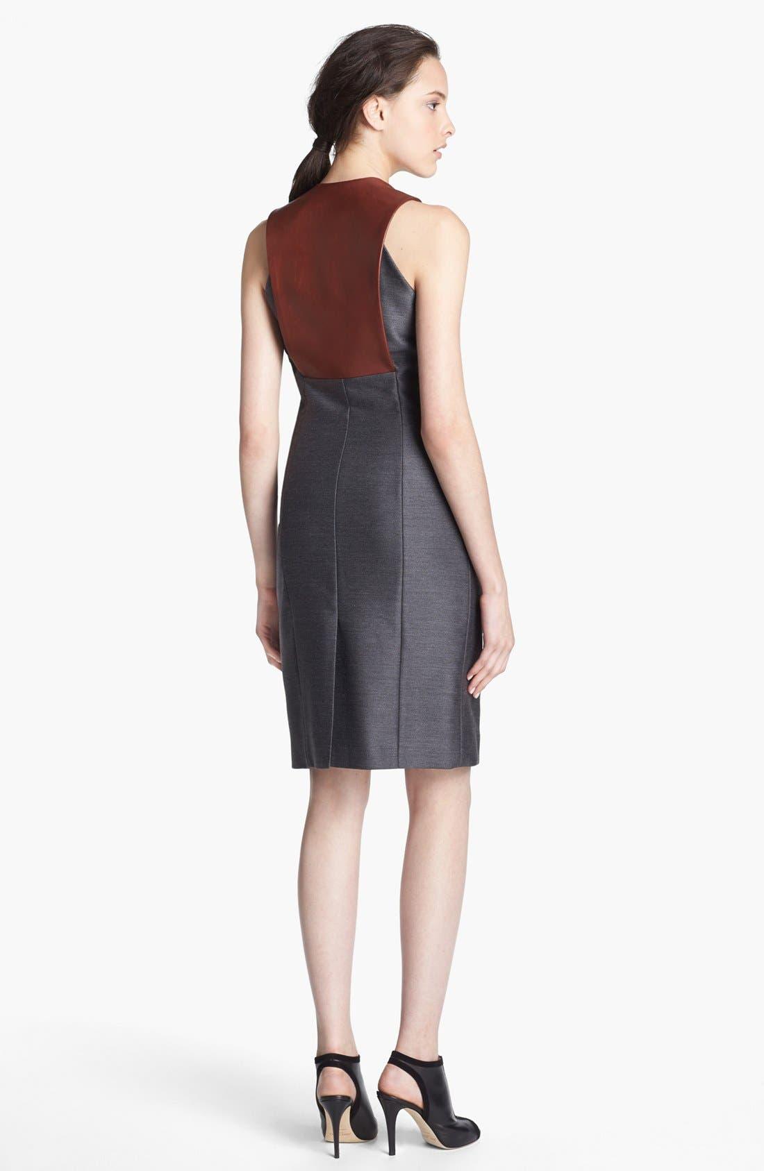Alternate Image 2  - Alexander Wang Leather Bib Dress