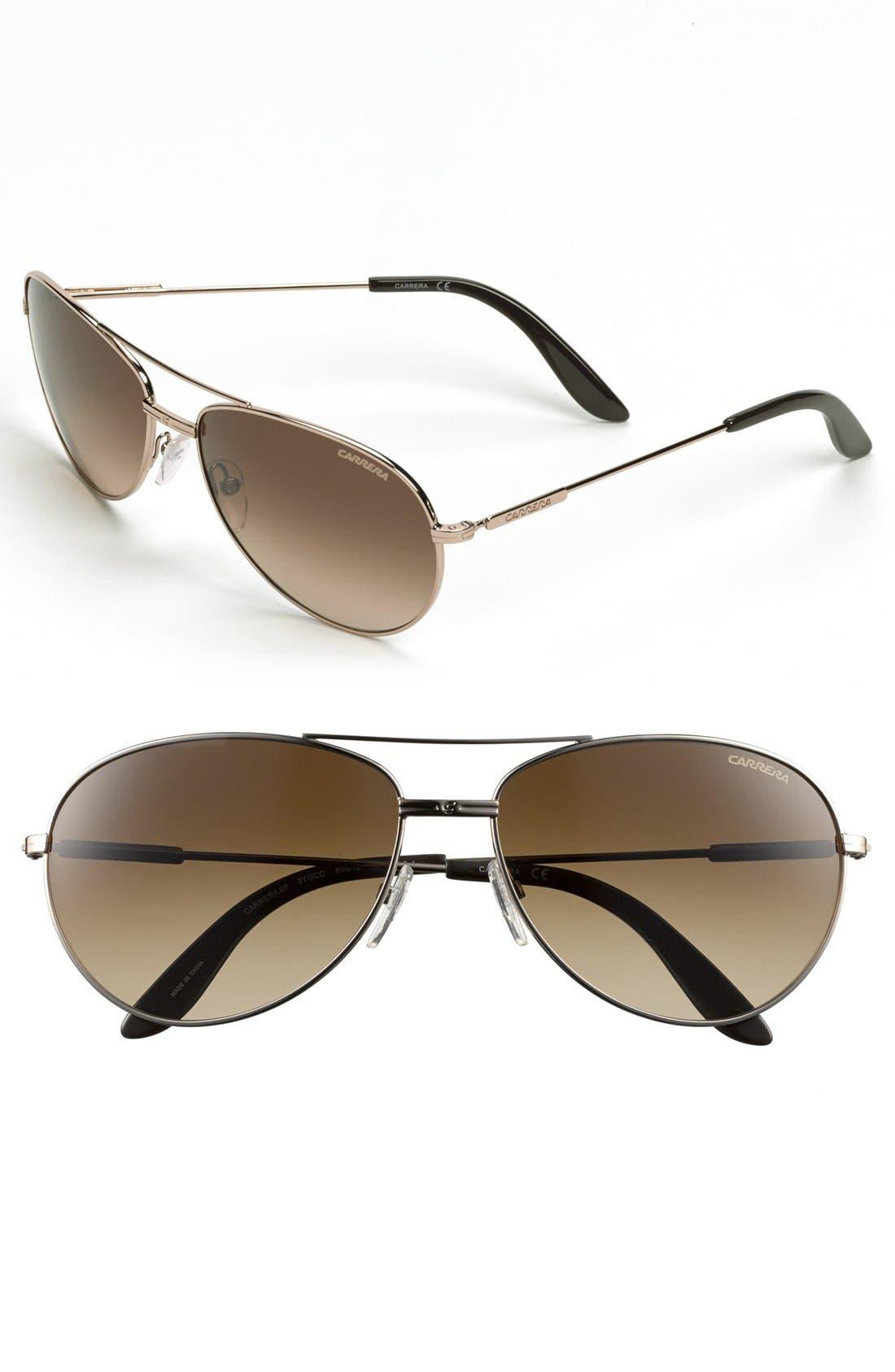 Alternate Image 1 Selected - Carrera Eyewear '69/S' 60mm Sunglasses