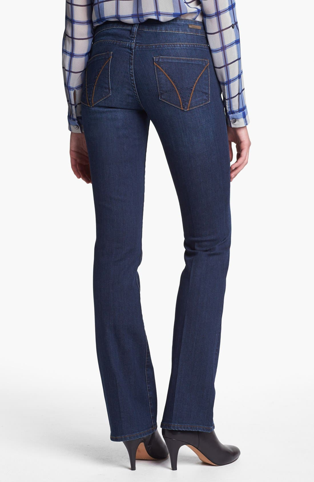 Alternate Image 2  - KUT from the Kloth 'Farrah' Mini Bootcut Jeans (Whim) (Regular & Petite)