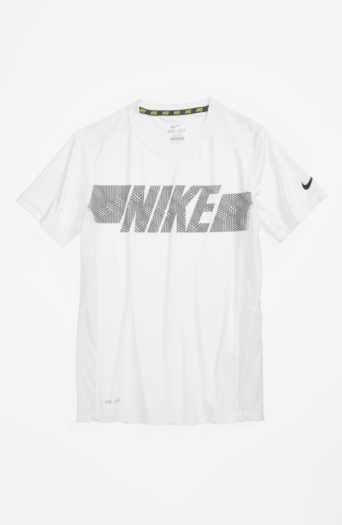 Alternate Image 1 Selected - Nike 'Speed Fly Dimension GFX' T-Shirt (Big Boys)