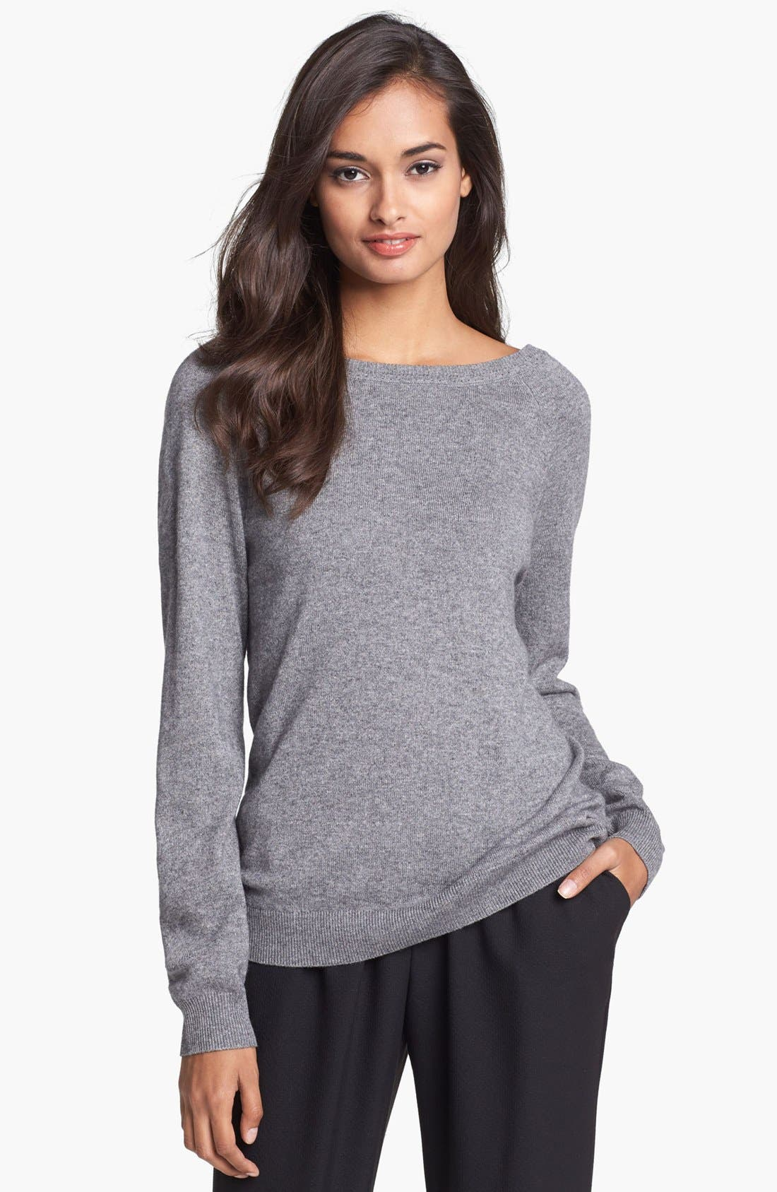 Alternate Image 1 Selected - Trina Turk 'Maelie' Silk & Cashmere Sweater