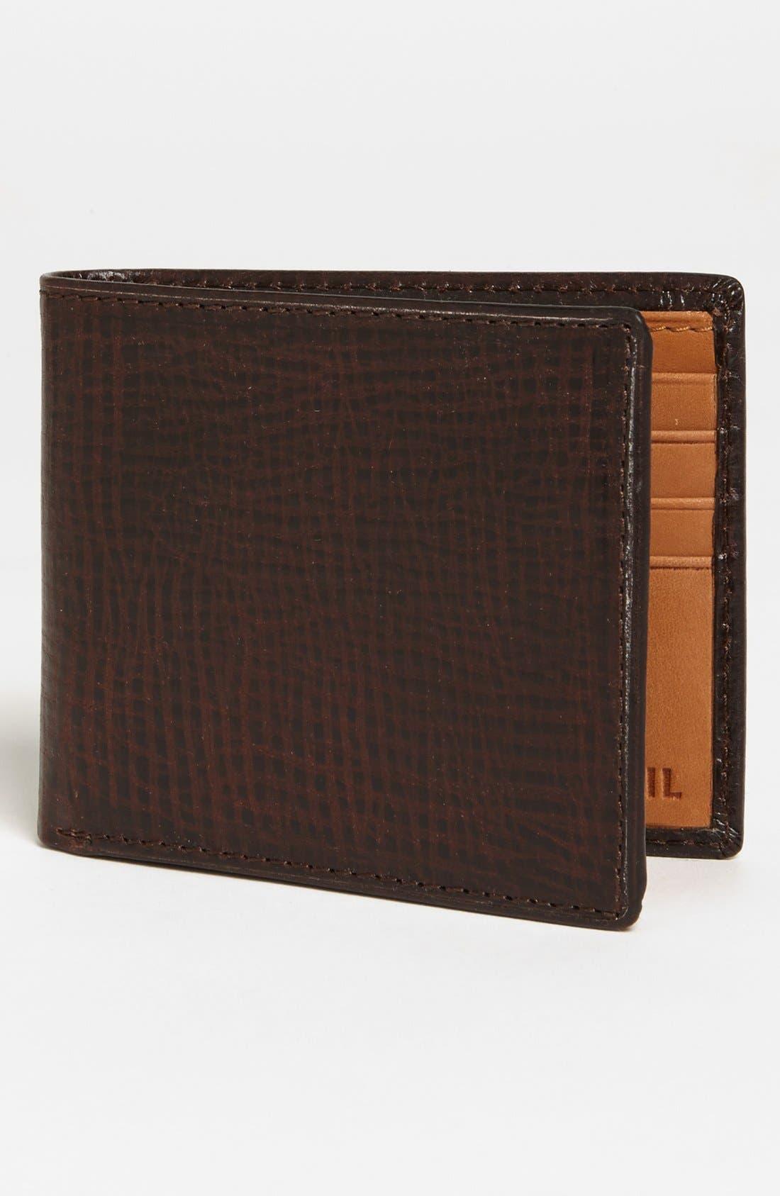 Main Image - Fossil 'Keaton' Traveler Wallet