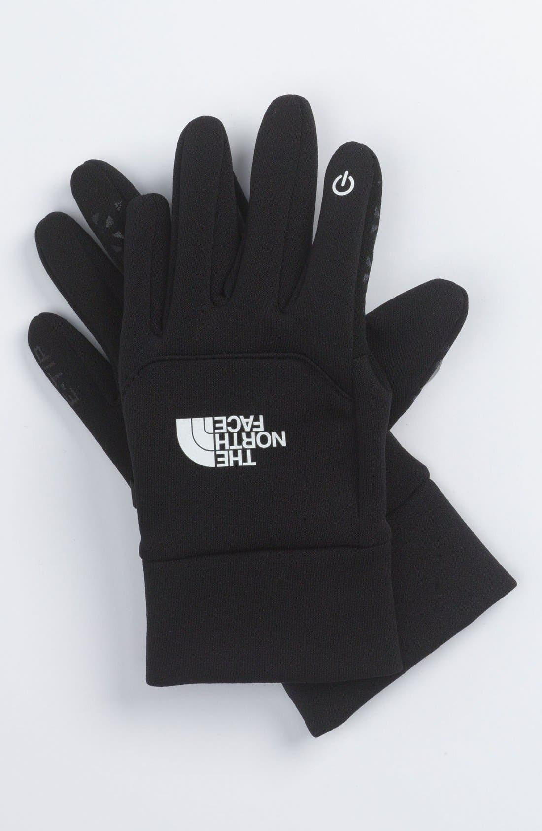Alternate Image 1 Selected - The North Face 'eTip' Gloves (Boys)