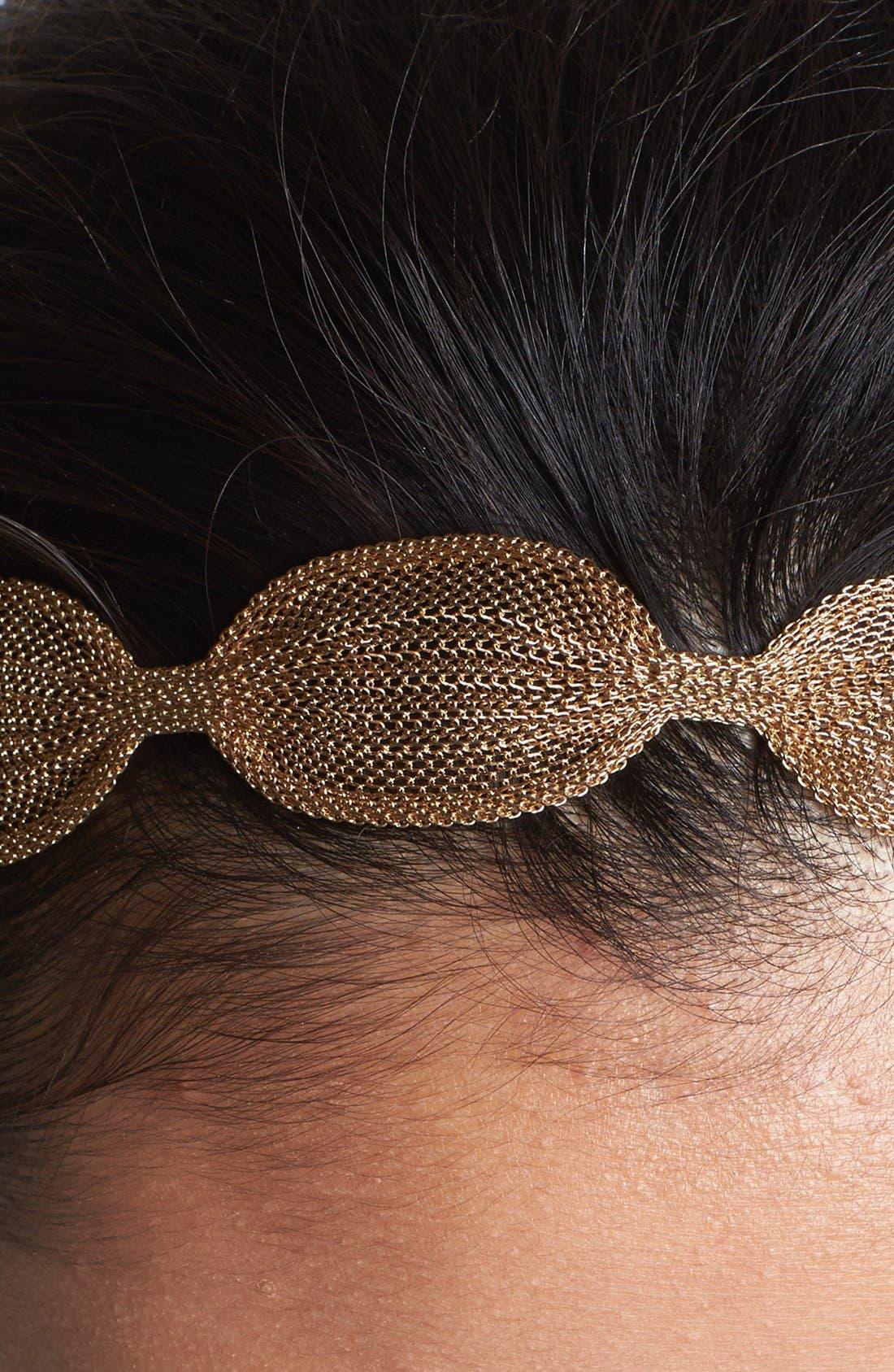 Alternate Image 2  - Tasha Soft Metal Head Wrap