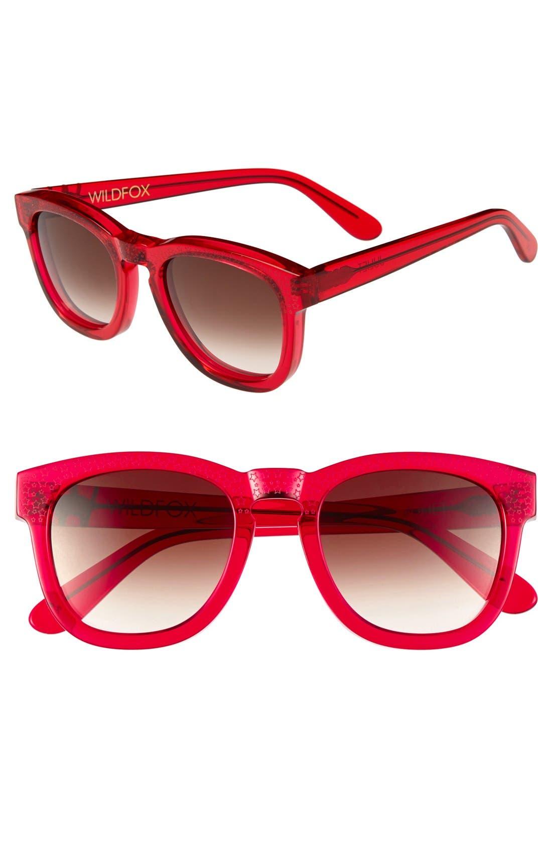 Alternate Image 1 Selected - Wildfox 'Juliet' Sunglasses