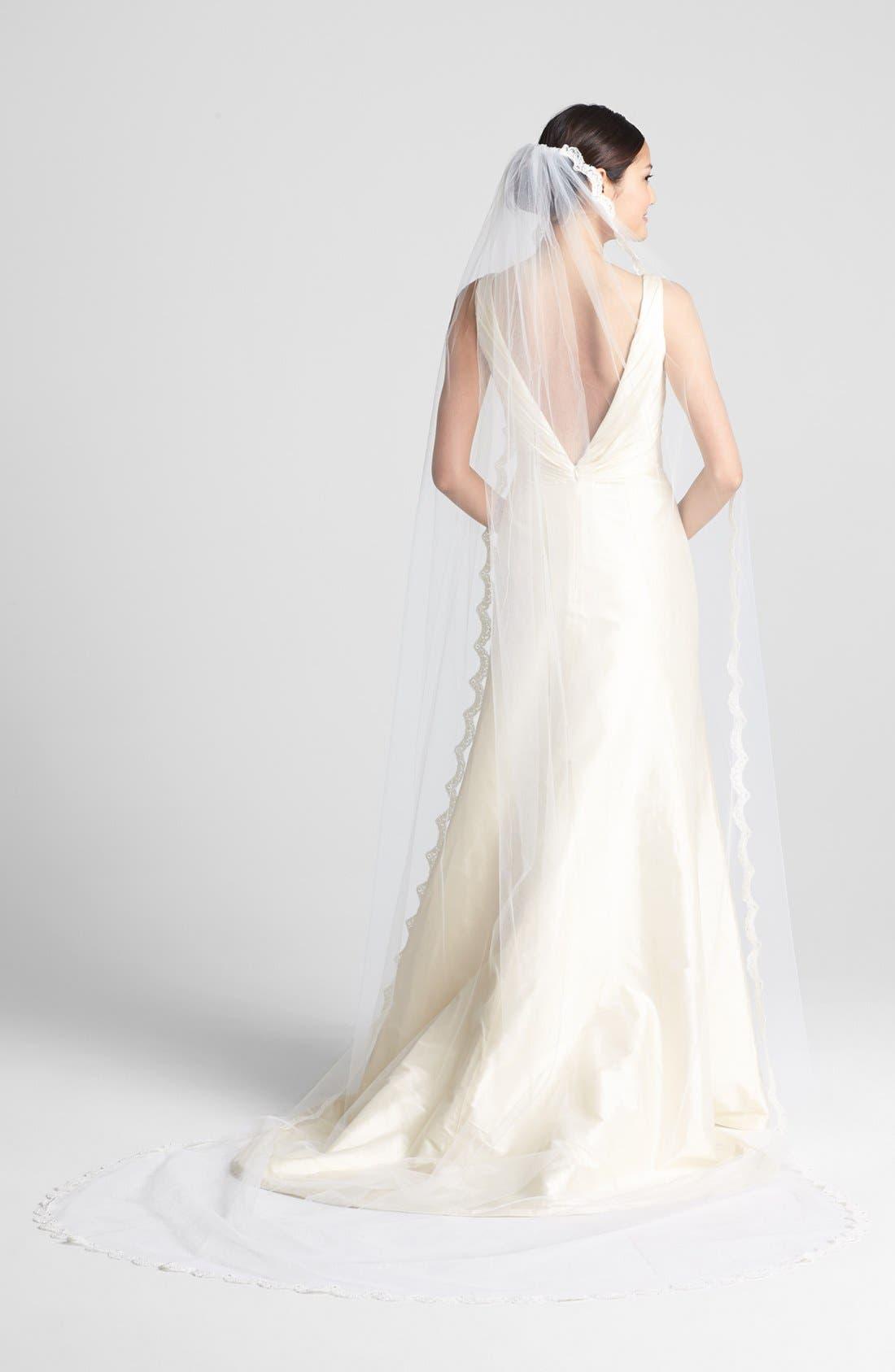 Alternate Image 1 Selected - Wedding Belles New York 'Isabelle - Swarovski Crystal' Cathedral Veil