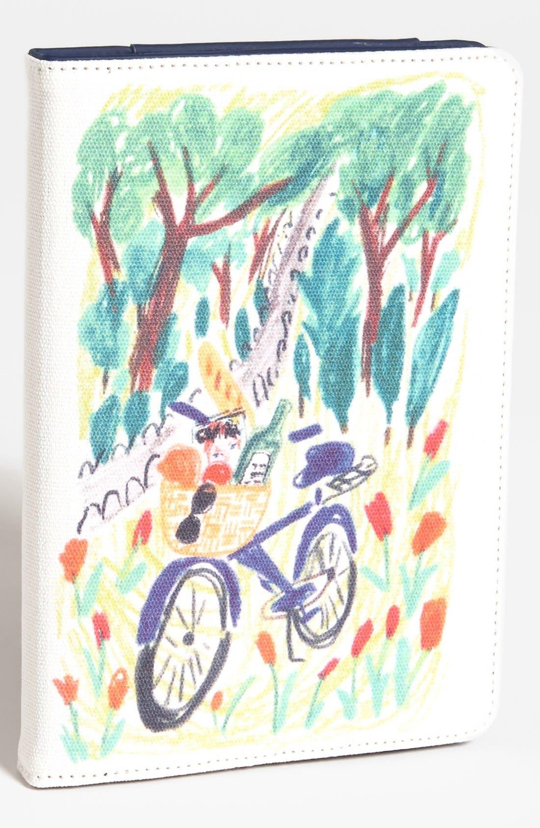 Main Image - kate spade new york 'bella picnic' iPad mini folio