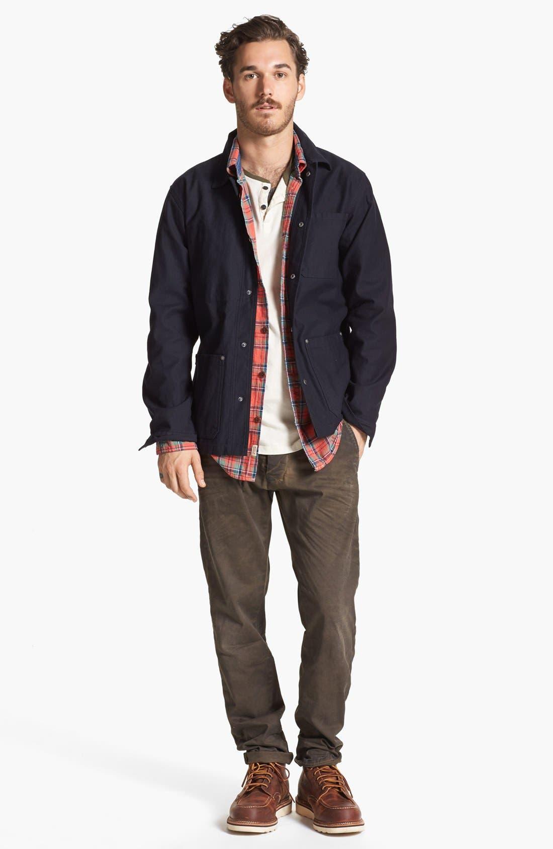 Alternate Image 4  - Brixton 'Survey' Twill Jacket