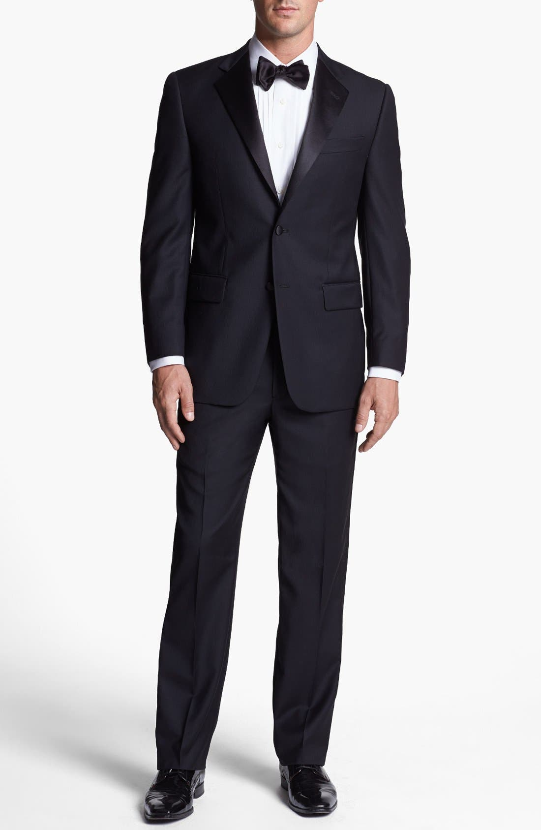 Alternate Image 1 Selected - Joseph Abboud Classic Fit Tuxedo