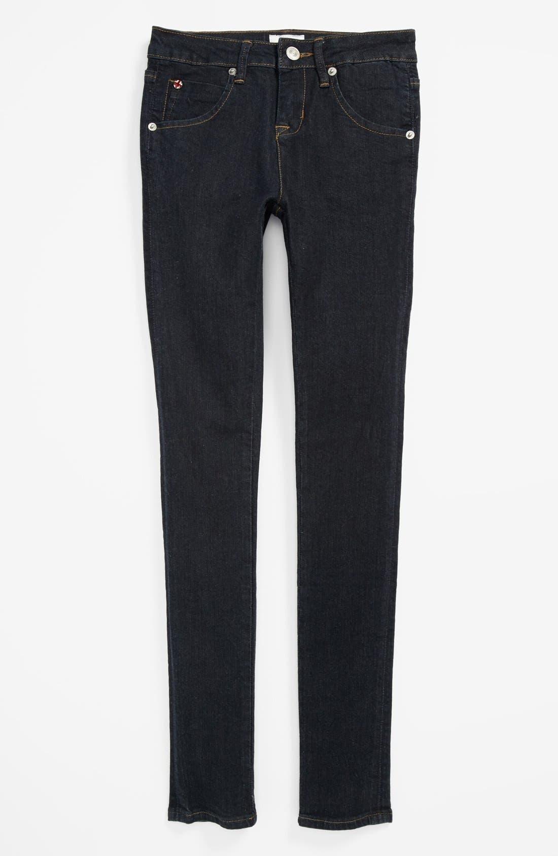 Alternate Image 2  - Hudson Kids 'Collin' Skinny Jeans (Big Girls) (Online Only)