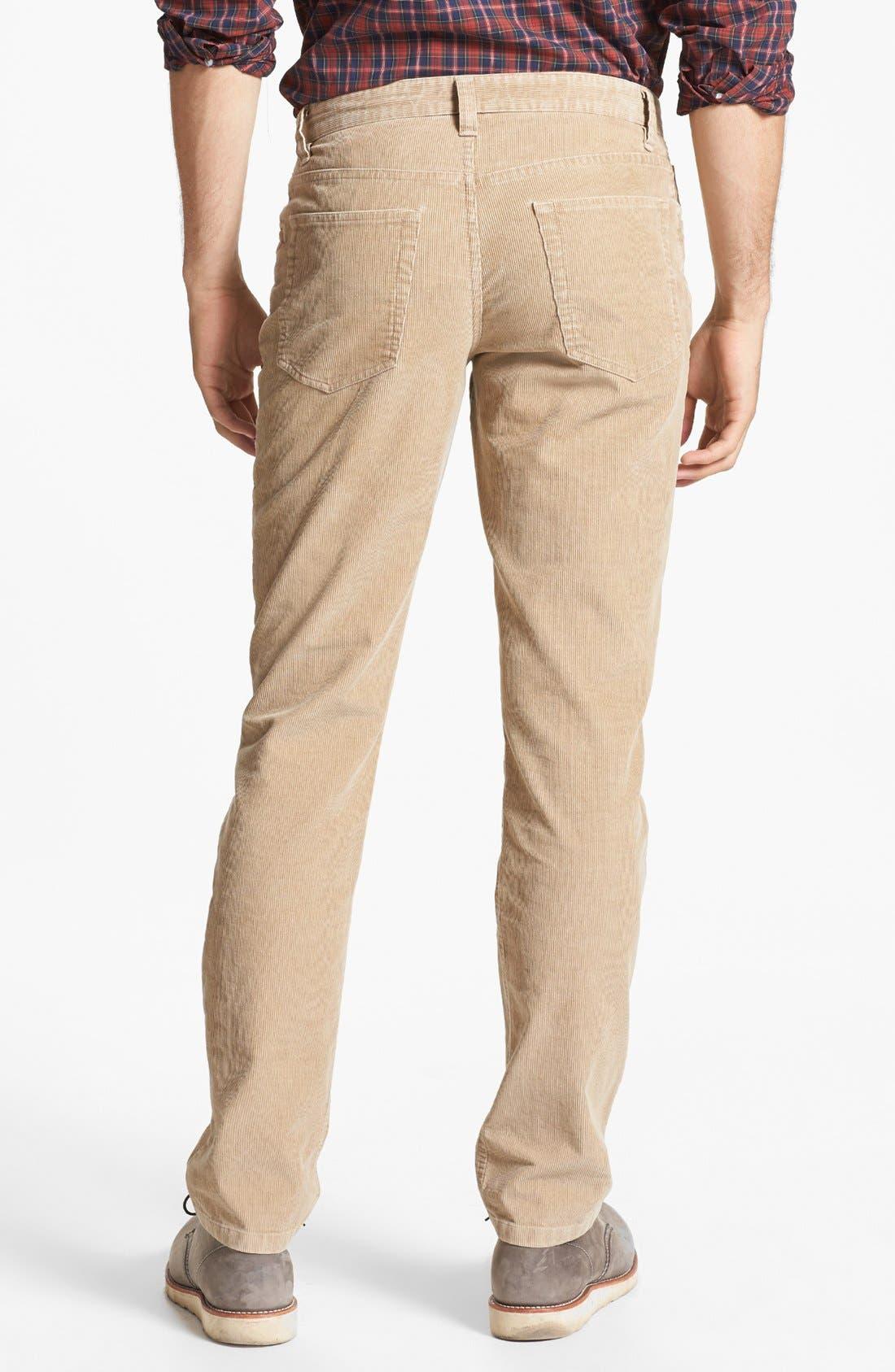 Alternate Image 2  - Wallin & Bros. Corduroy Pants
