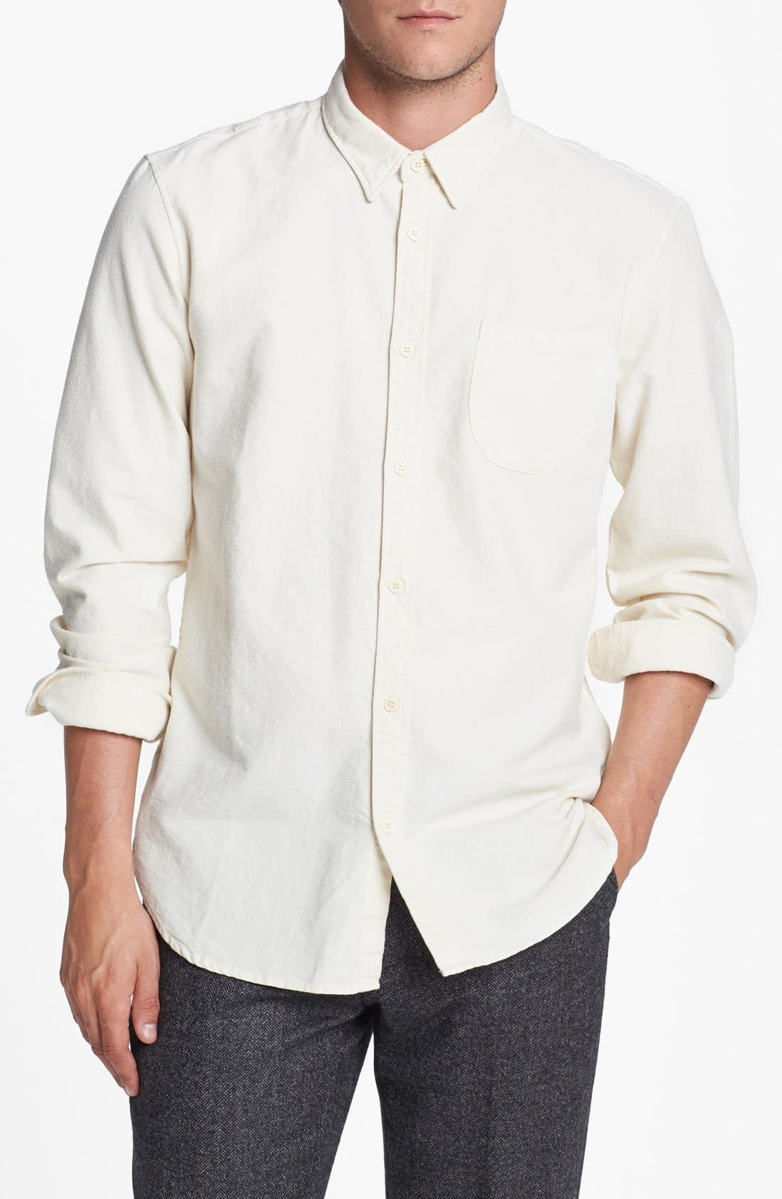 Alternate Image 1 Selected - Levi's® Made & Crafted™ Regular Fit Sport Shirt