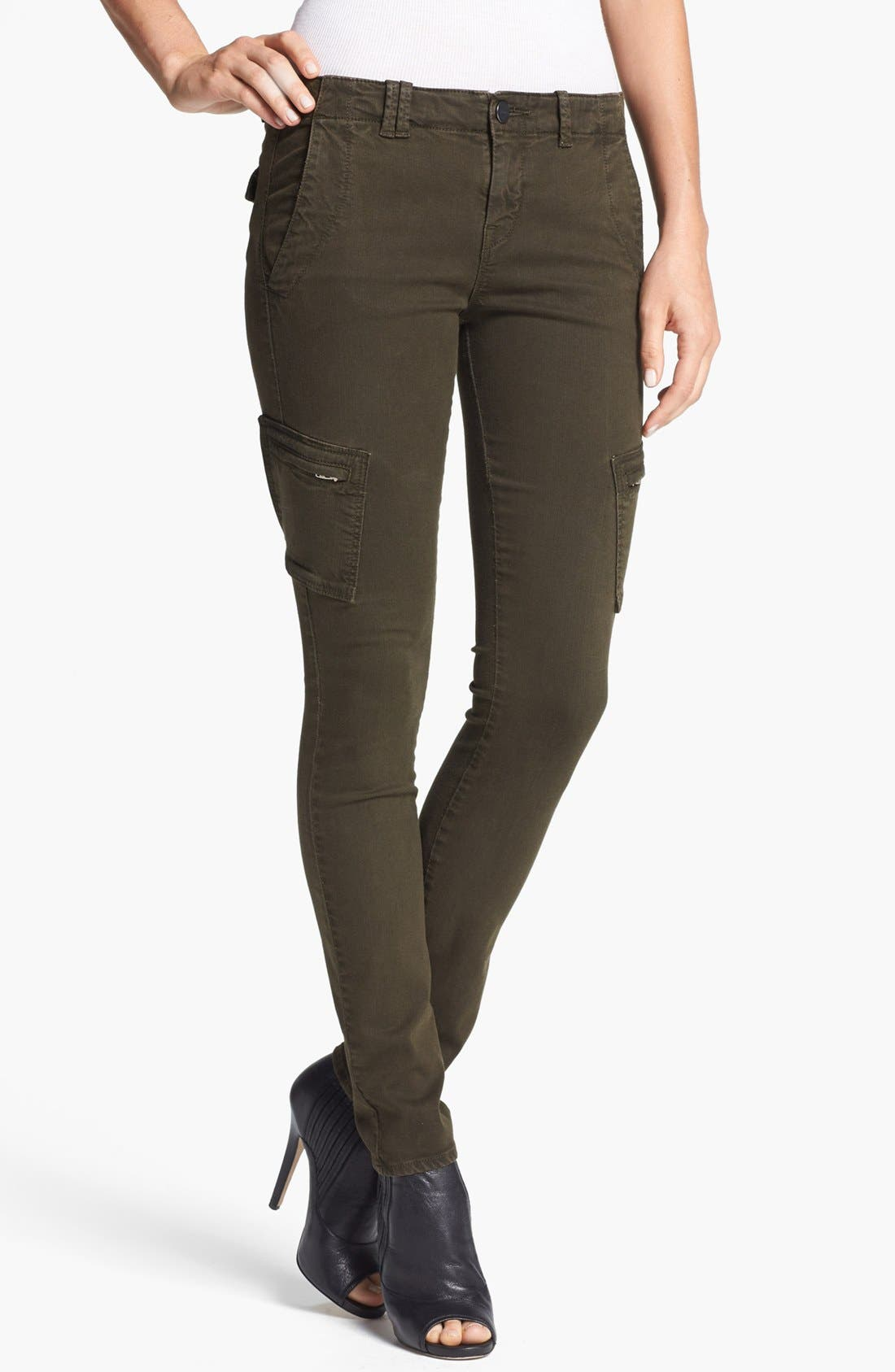 Main Image - Vince Colored Slim Leg Cargo Stretch Jeans