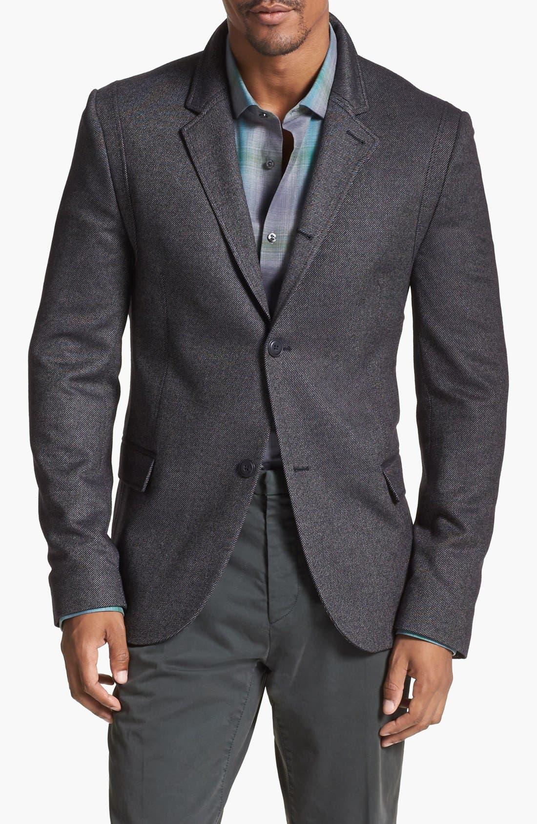 Alternate Image 1 Selected - HUGO 'Adgar' Twill Sportcoat