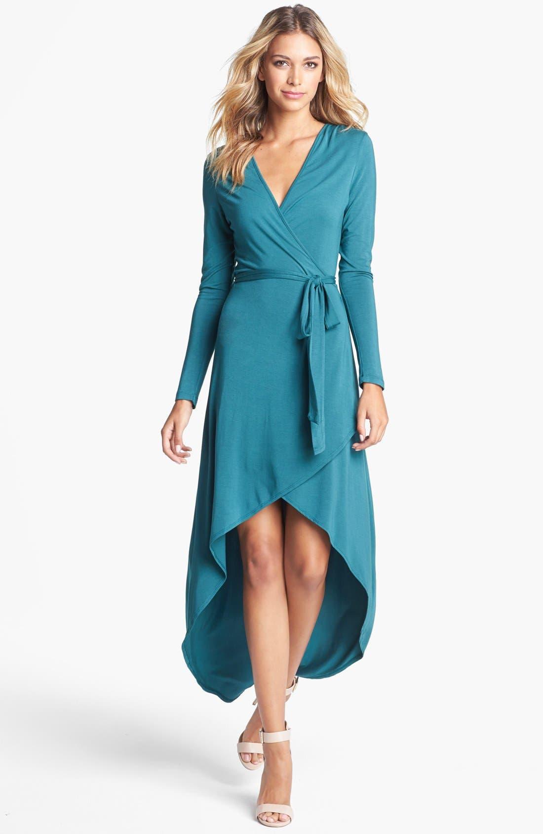 Main Image - Tart 'Autumn' High/Low Jersey Wrap Dress