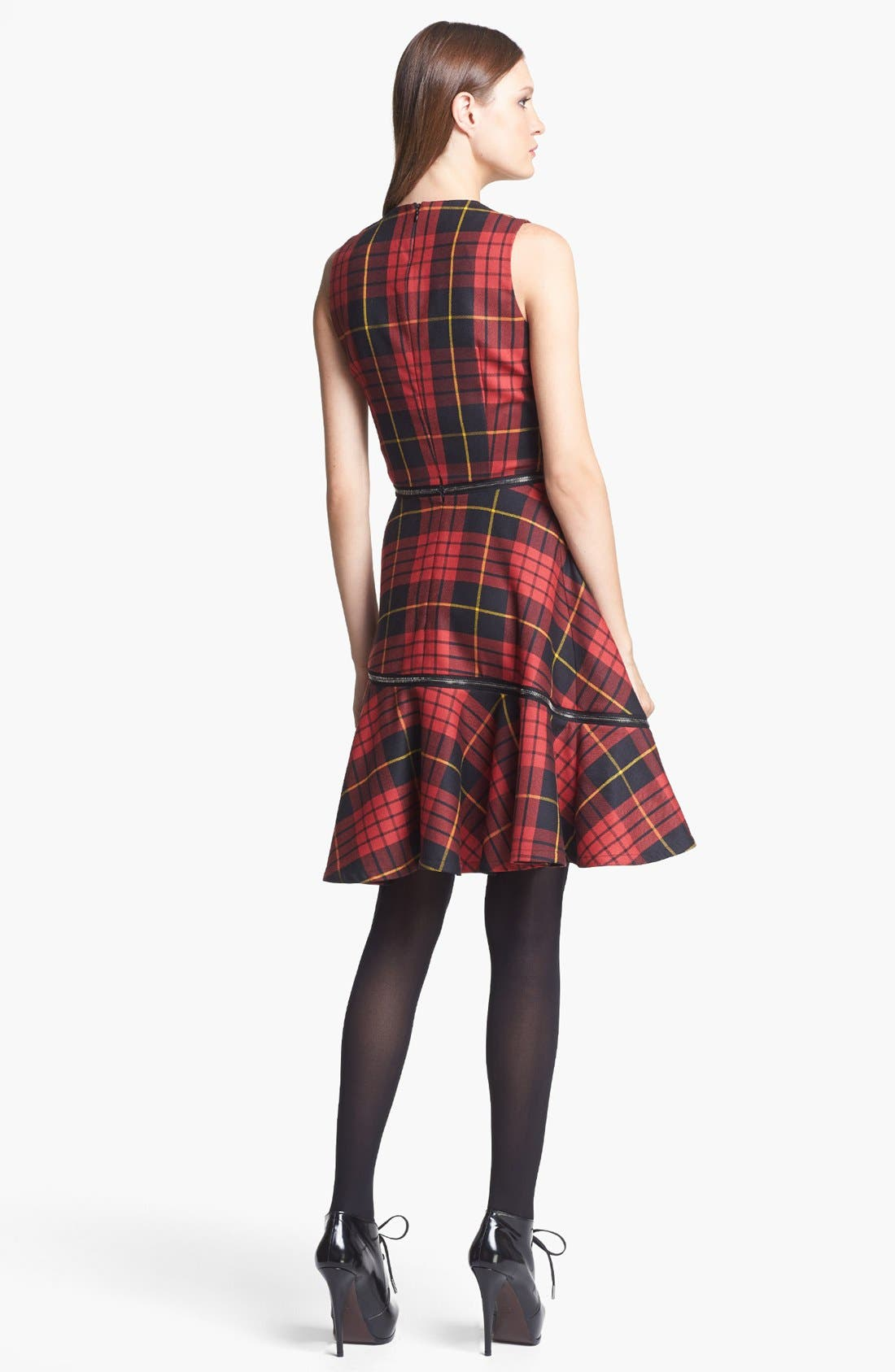 Alternate Image 2  - McQ by Alexander McQueen Tartan Plaid Dress