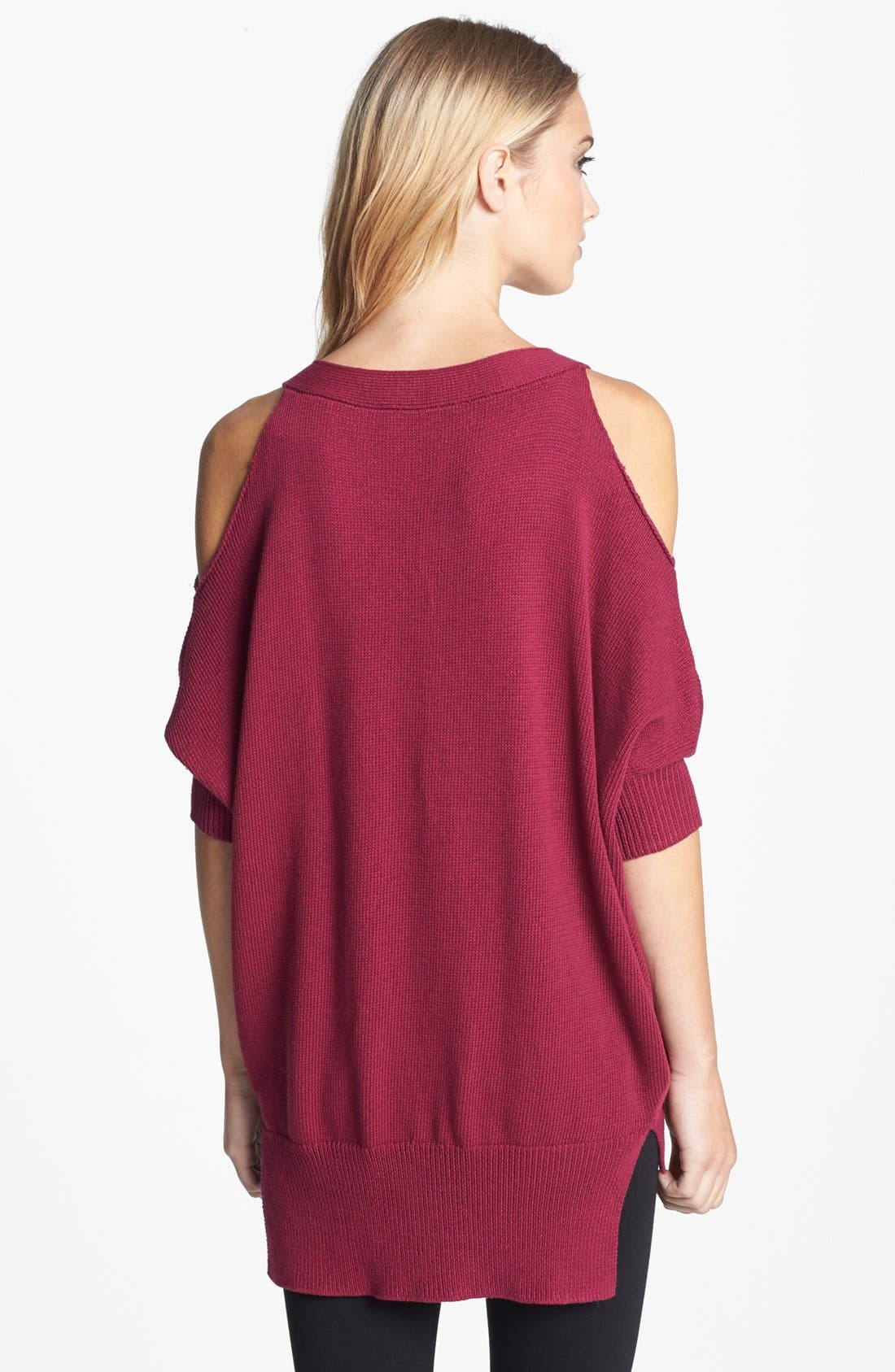 Alternate Image 2  - Trina Turk 'Madison' Cold Shoulder Sweater