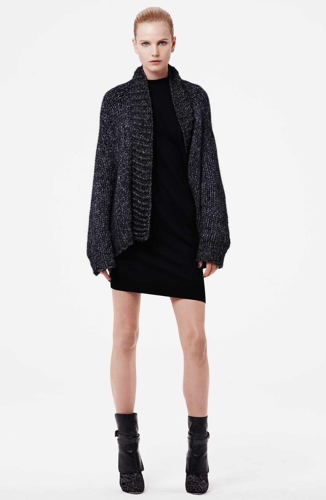Alternate Image 4  - Alexander Wang Sleeveless Wool Knit Dress