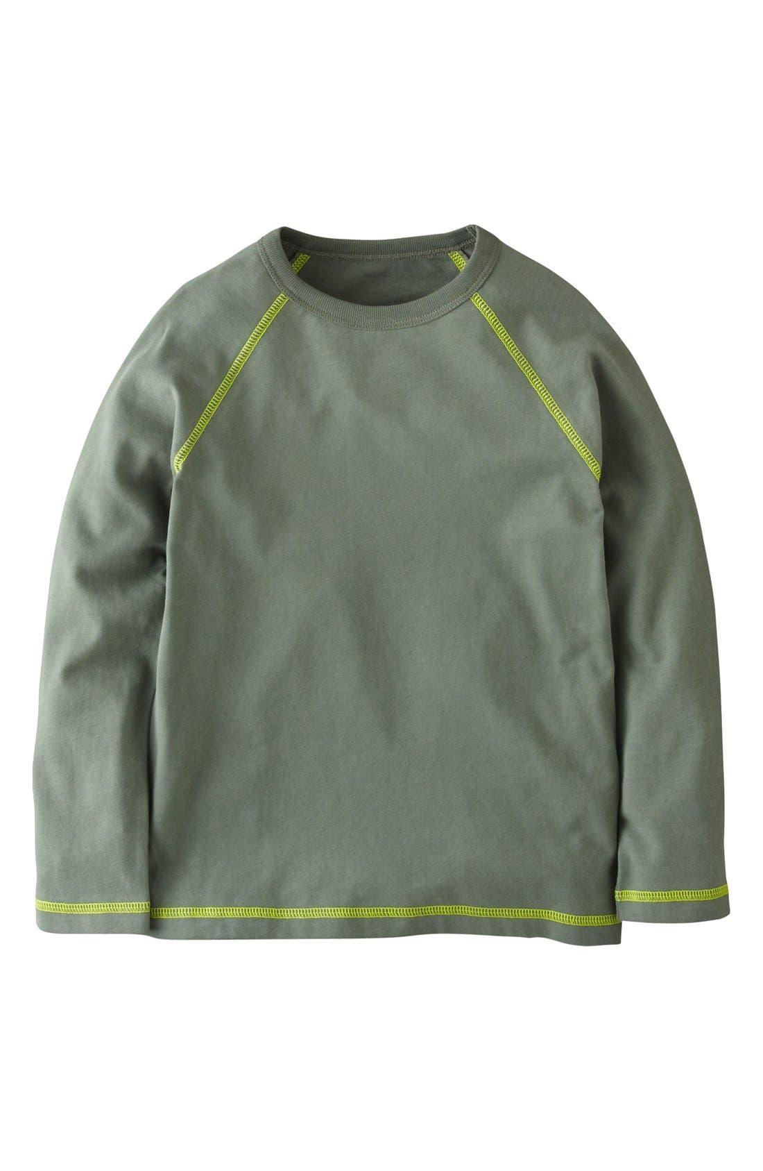 Main Image - Mini Boden Sueded Cotton T-Shirt (Toddler Boys, Little Boys & Big Boys)