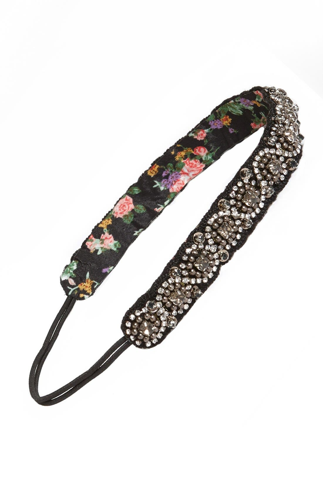 Alternate Image 1 Selected - Capelli of New York Beaded Head Wrap (Girls)