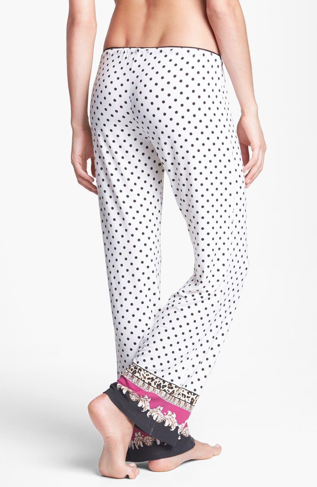 Alternate Image 2  - PJ Salvage 'Pop of Pink' Knit Pants