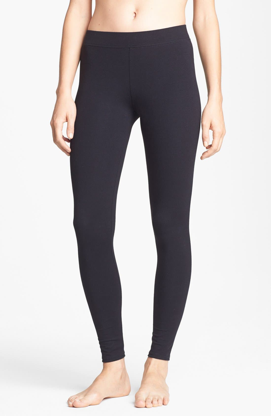Go-To Leggings,                         Main,                         color, Black