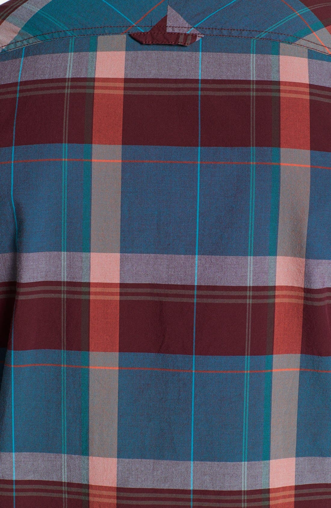Alternate Image 3  - 1901 Trim Fit Plaid Poplin Shirt