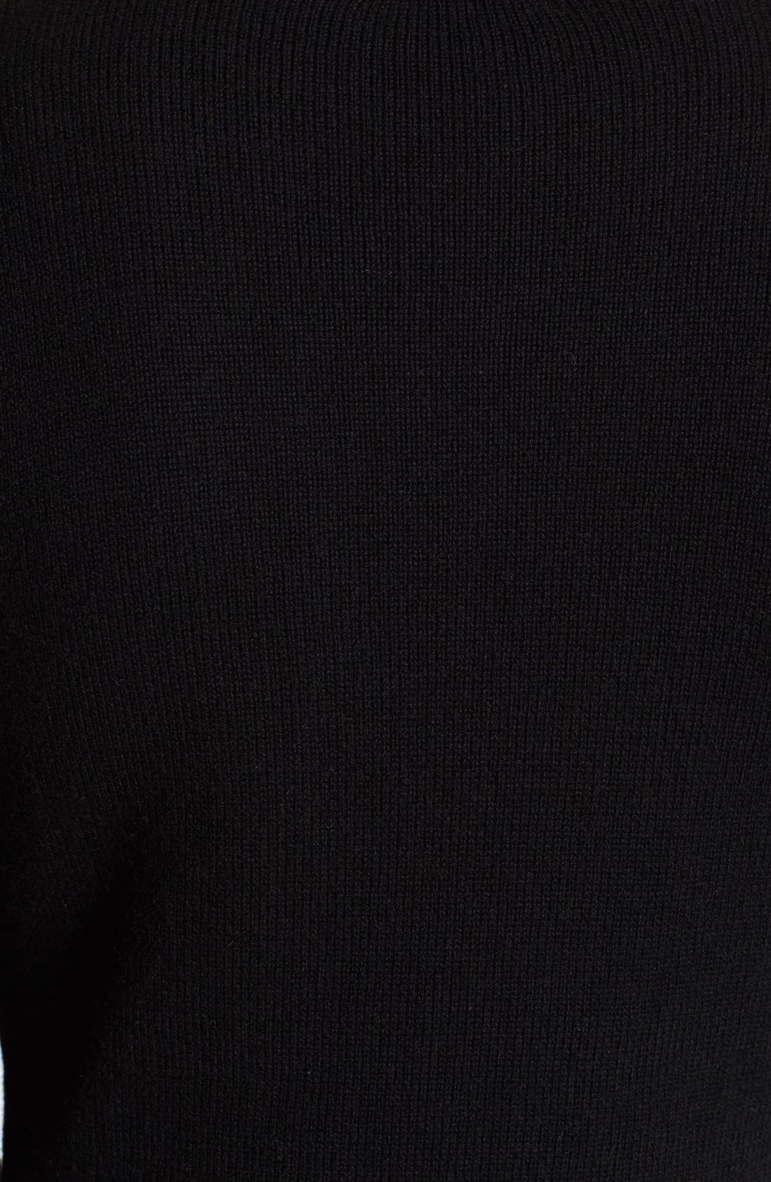 Alternate Image 3  - Versace Shawl Collar Sweater