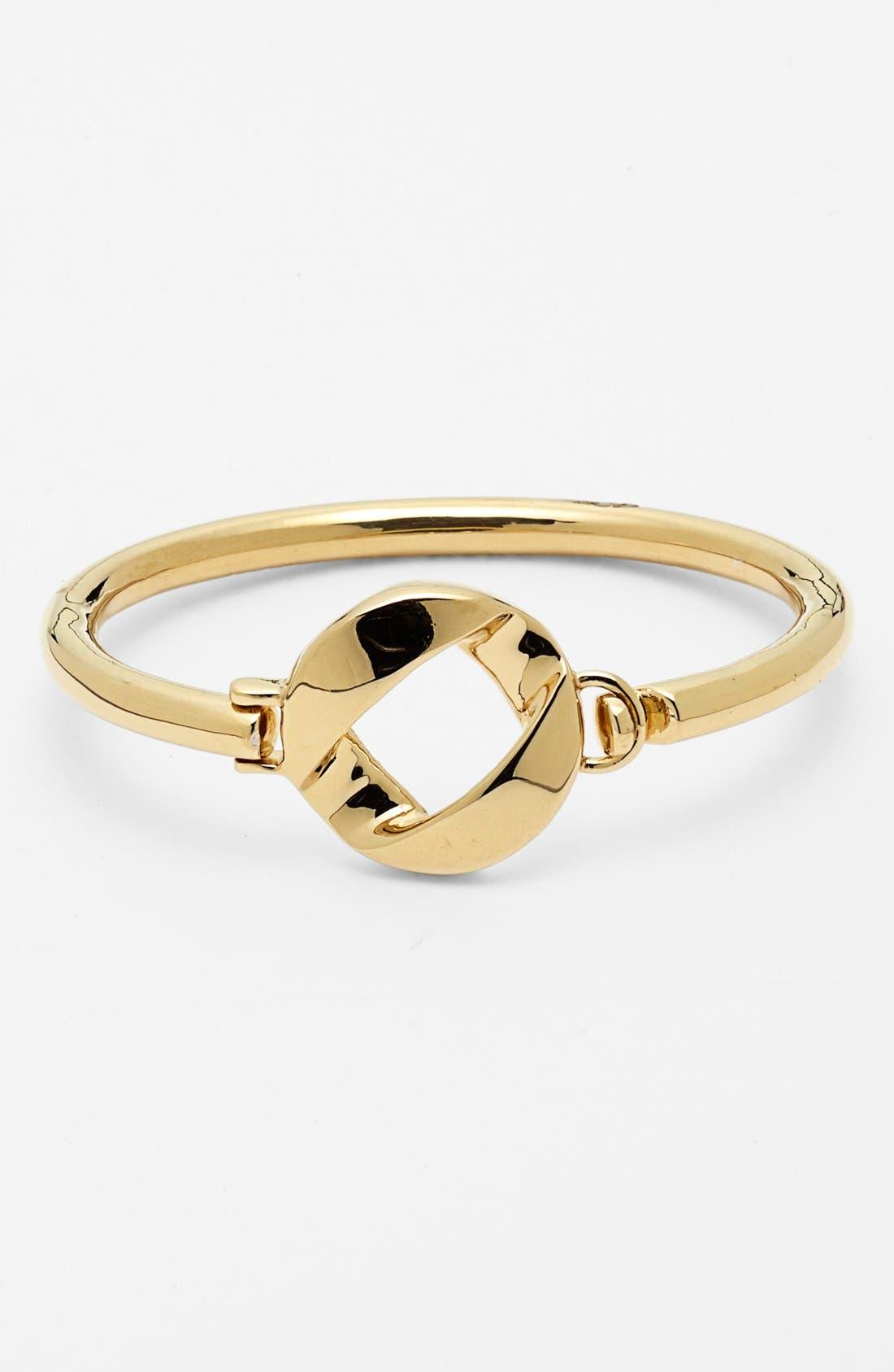 'Katie' Skinny Bracelet,                         Main,                         color, Gold