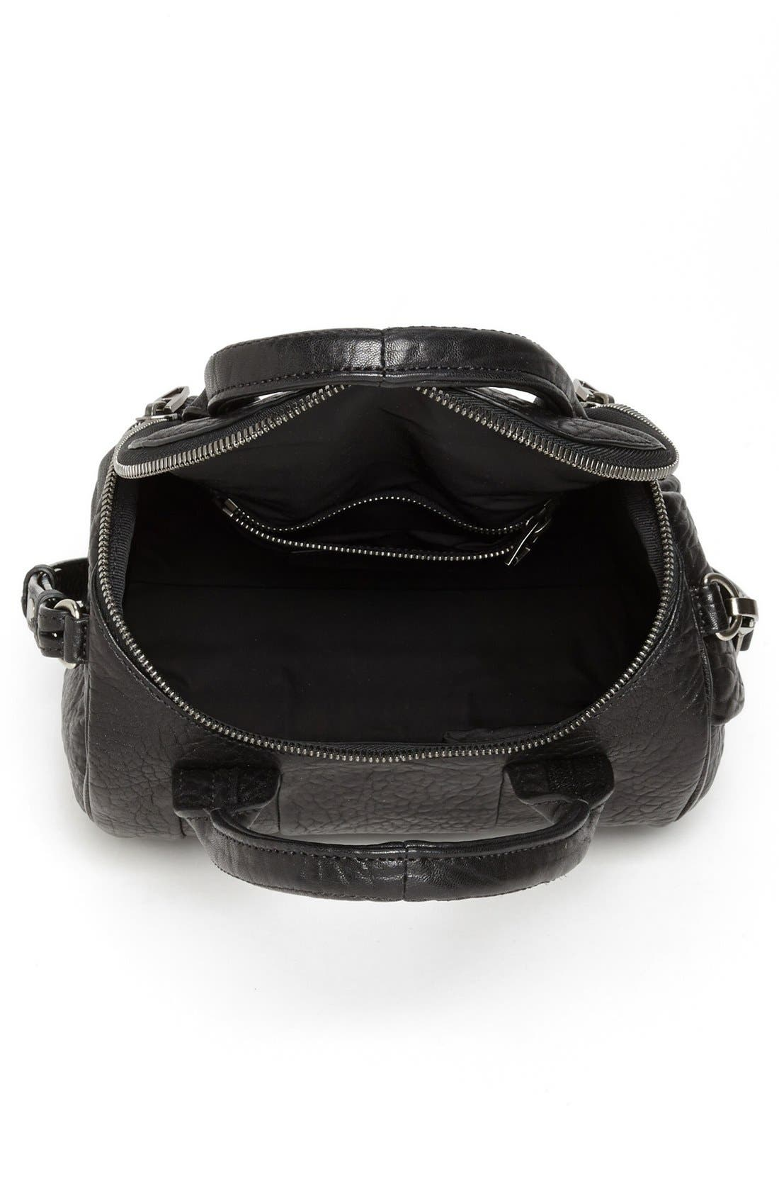 Alternate Image 3  - Alexander Wang 'Rockie - Black Nickel' Leather Crossbody Satchel
