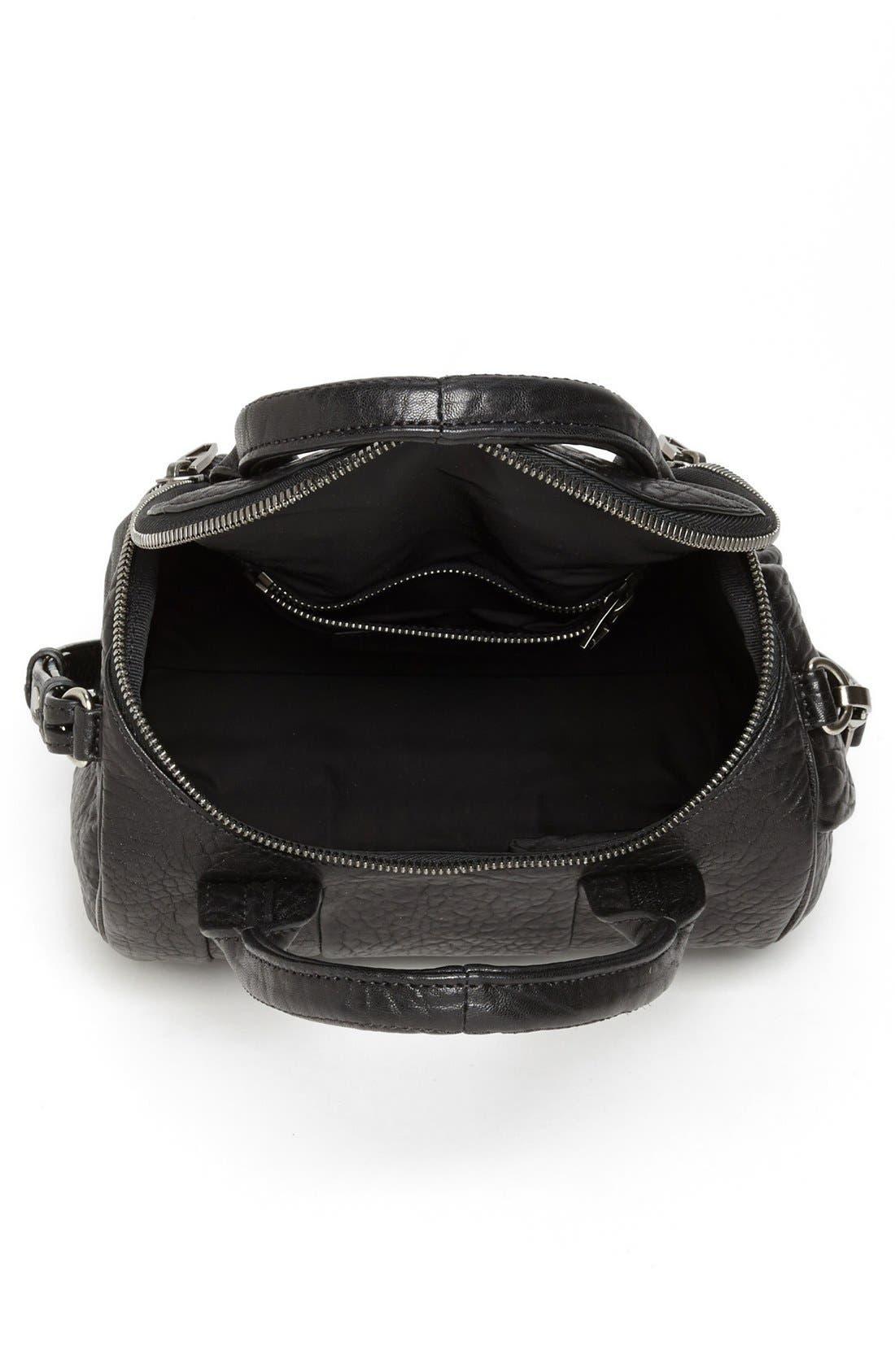 Alternate Image 3  - Alexander Wang 'Rockie - Black Nickel' Leather Crossbody Satchel