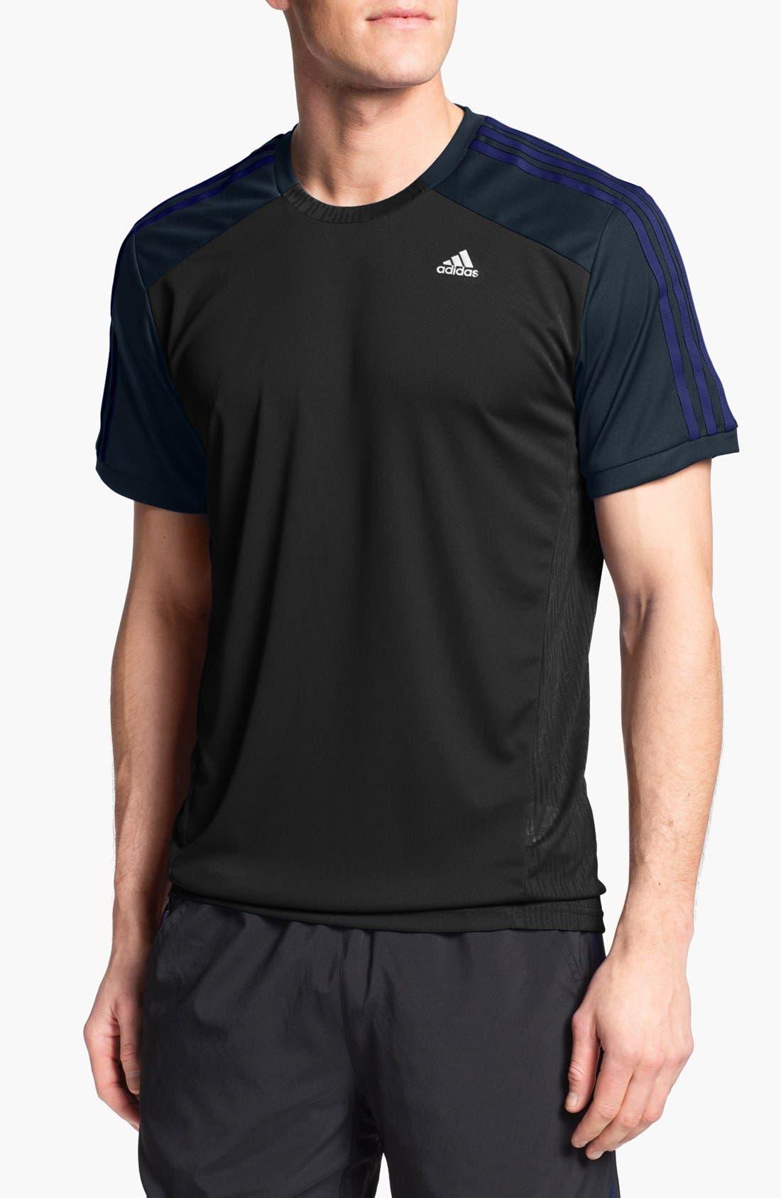 '365 Core' CLIMACOOL<sup>®</sup> T-Shirt,                         Main,                         color, Black/ Night Shade