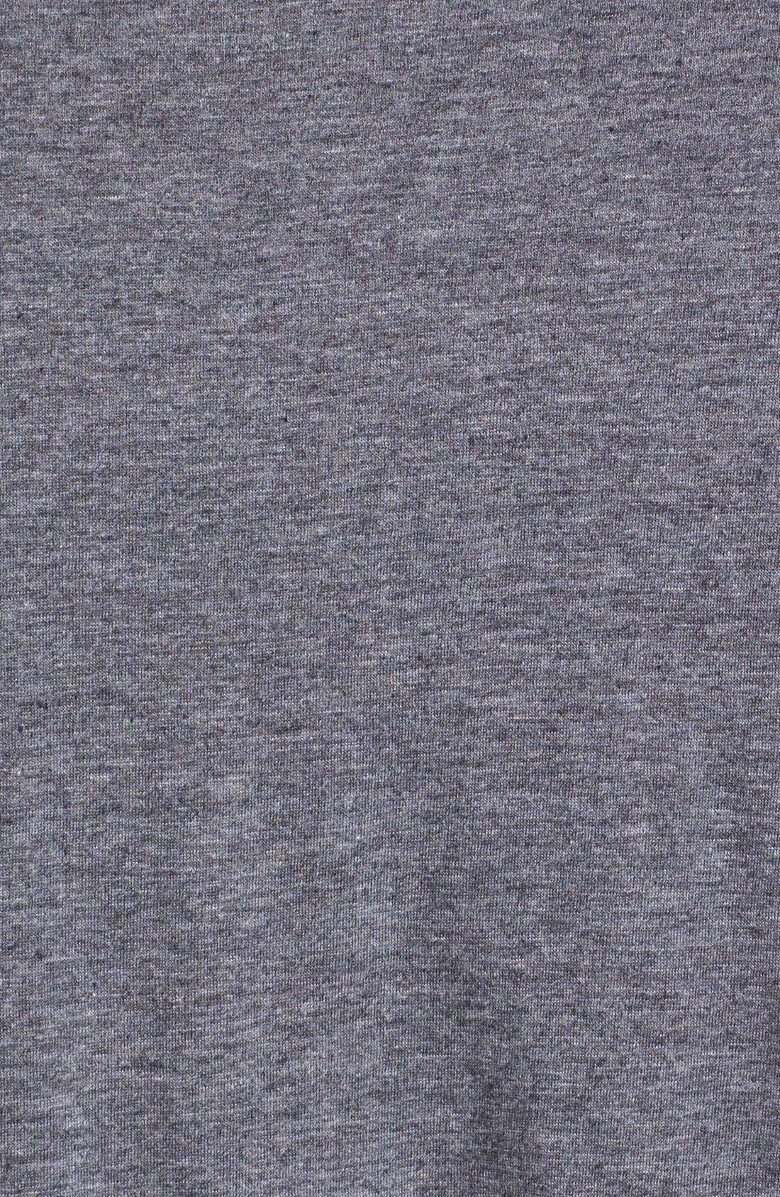Alternate Image 3  - Daniel Buchler Cotton Blend V-Neck T-Shirt