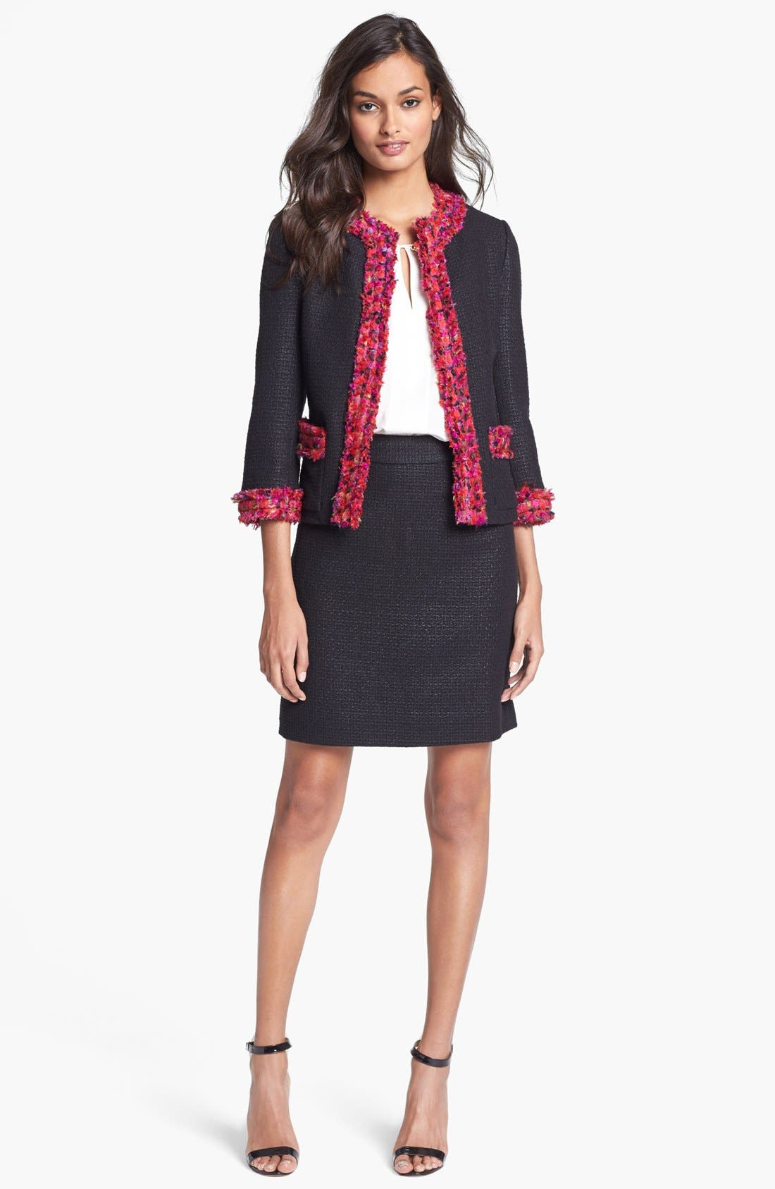 Alternate Image 4  - kate spade new york 'caylene' woven skirt