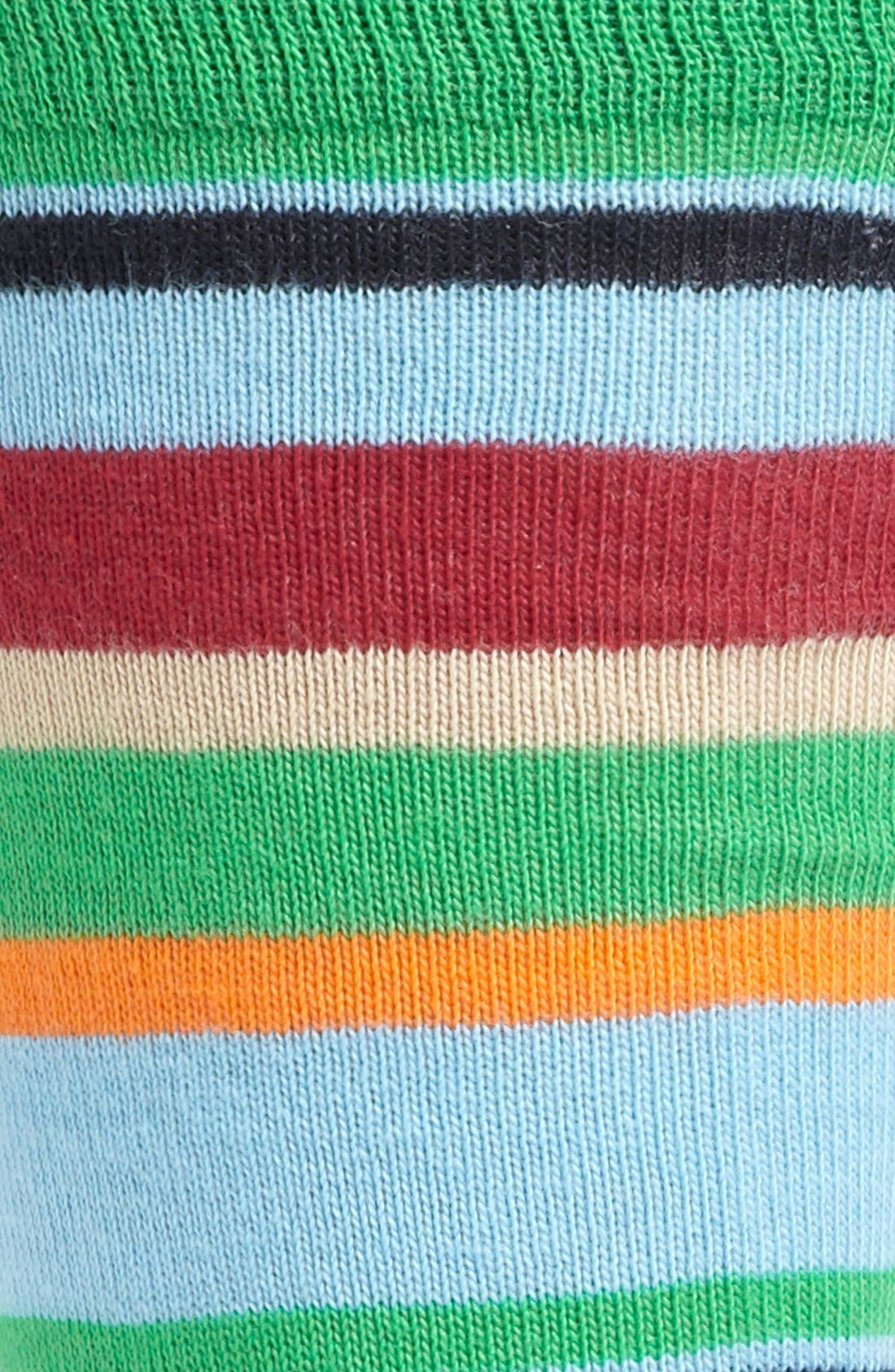 Alternate Image 2  - Lorenzo Uomo Multistripe Socks