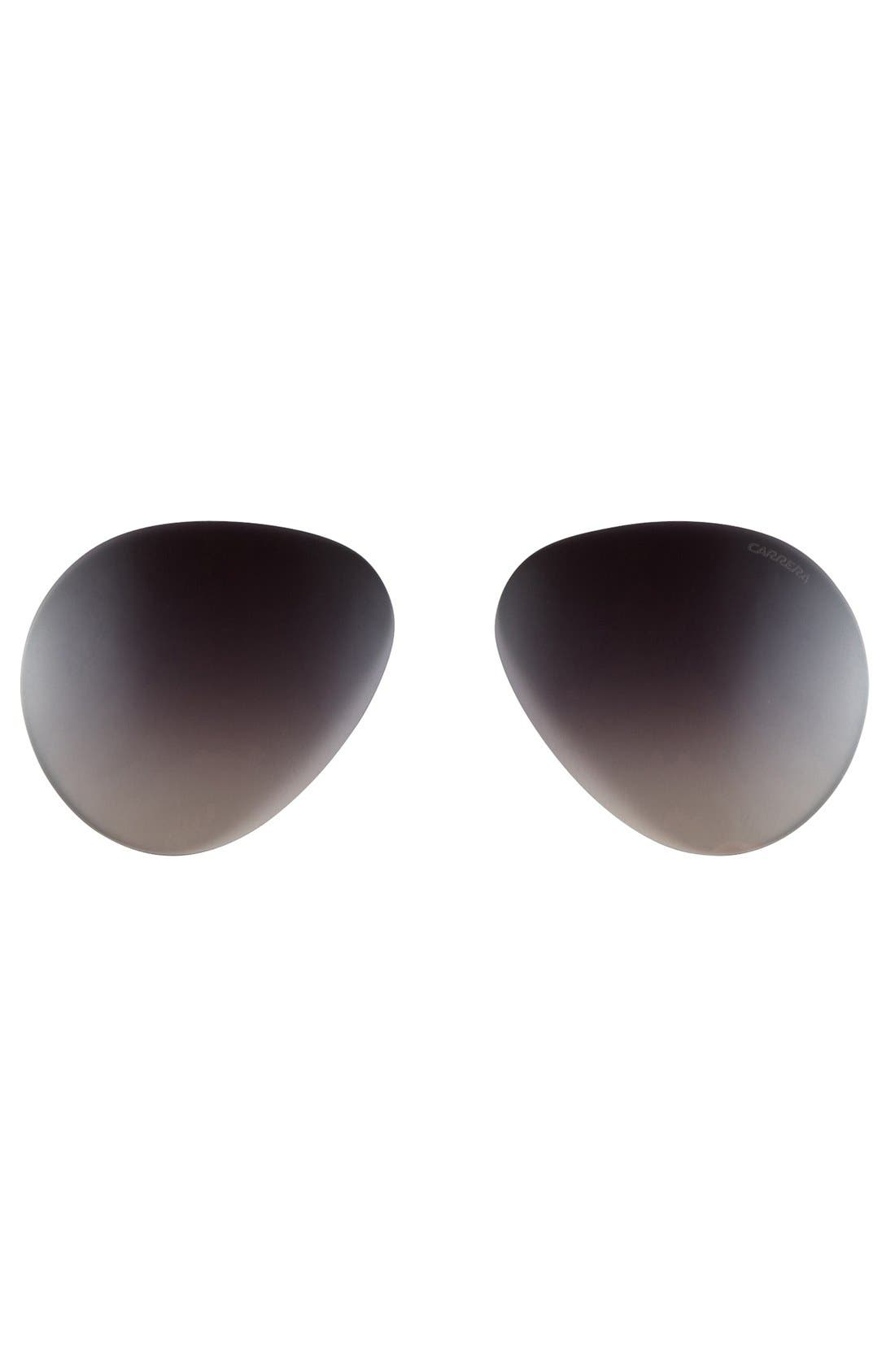 Alternate Image 2  - Carrera Eyewear 60mm Aviator Sunglasses