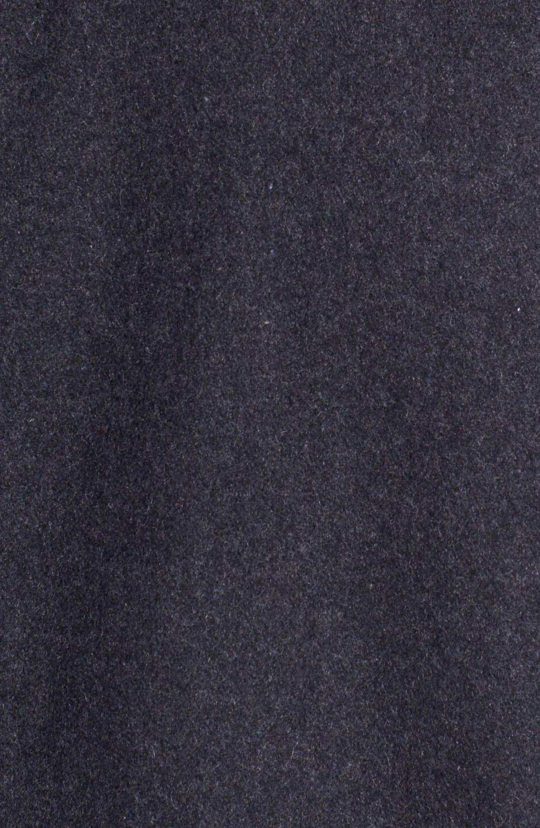 Alternate Image 3  - Kenneth Cole New York Melton Wool Peacoat