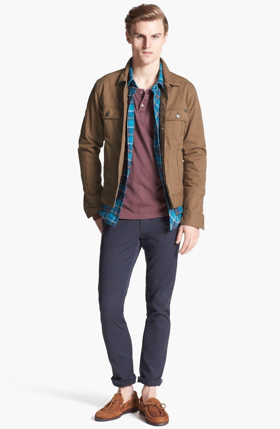 Alternate Image 4  - RVCA 'Jeano' Denim Jacket